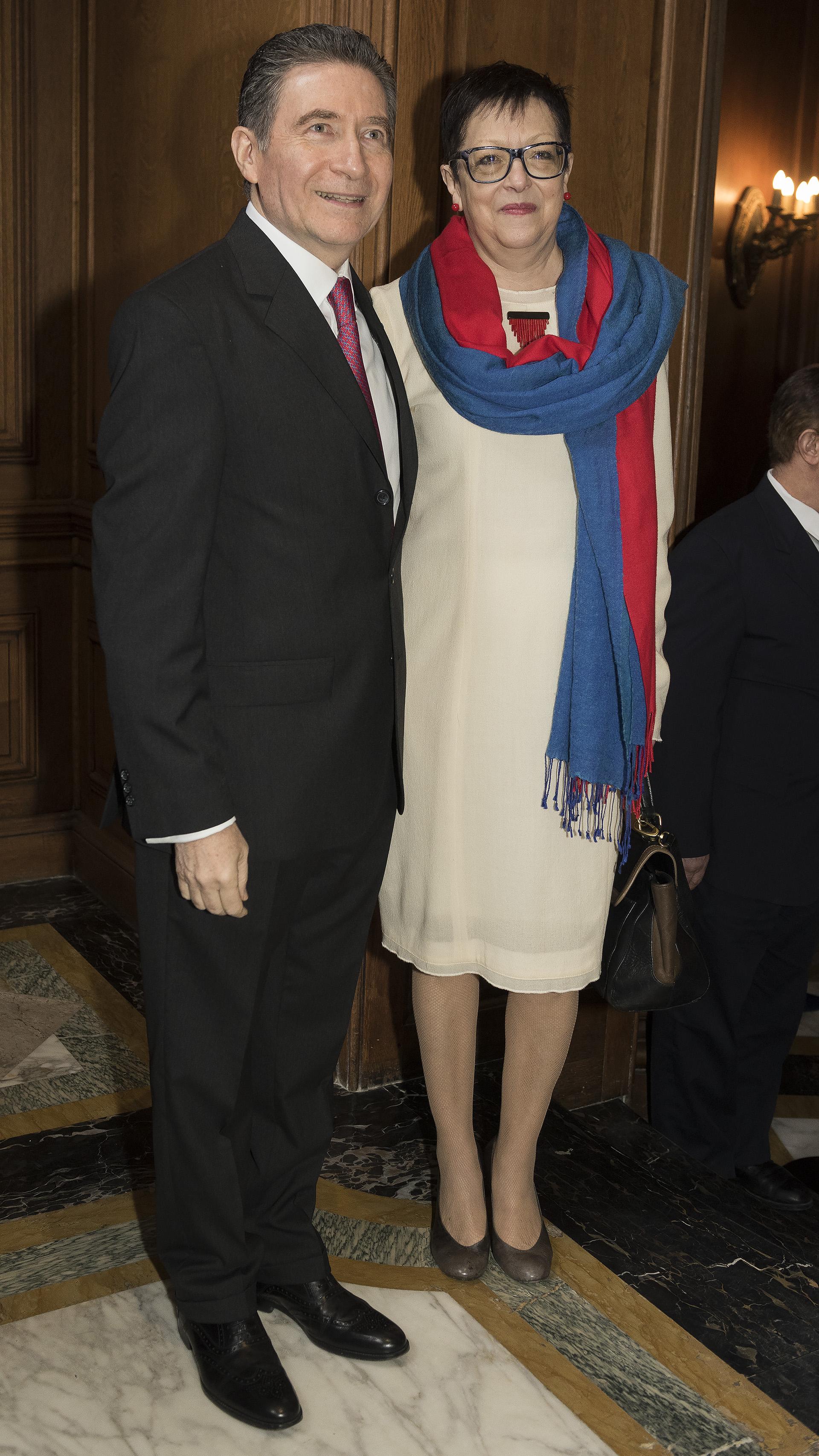 La embajadora de Rumania, Carmen Liliana Podgorean