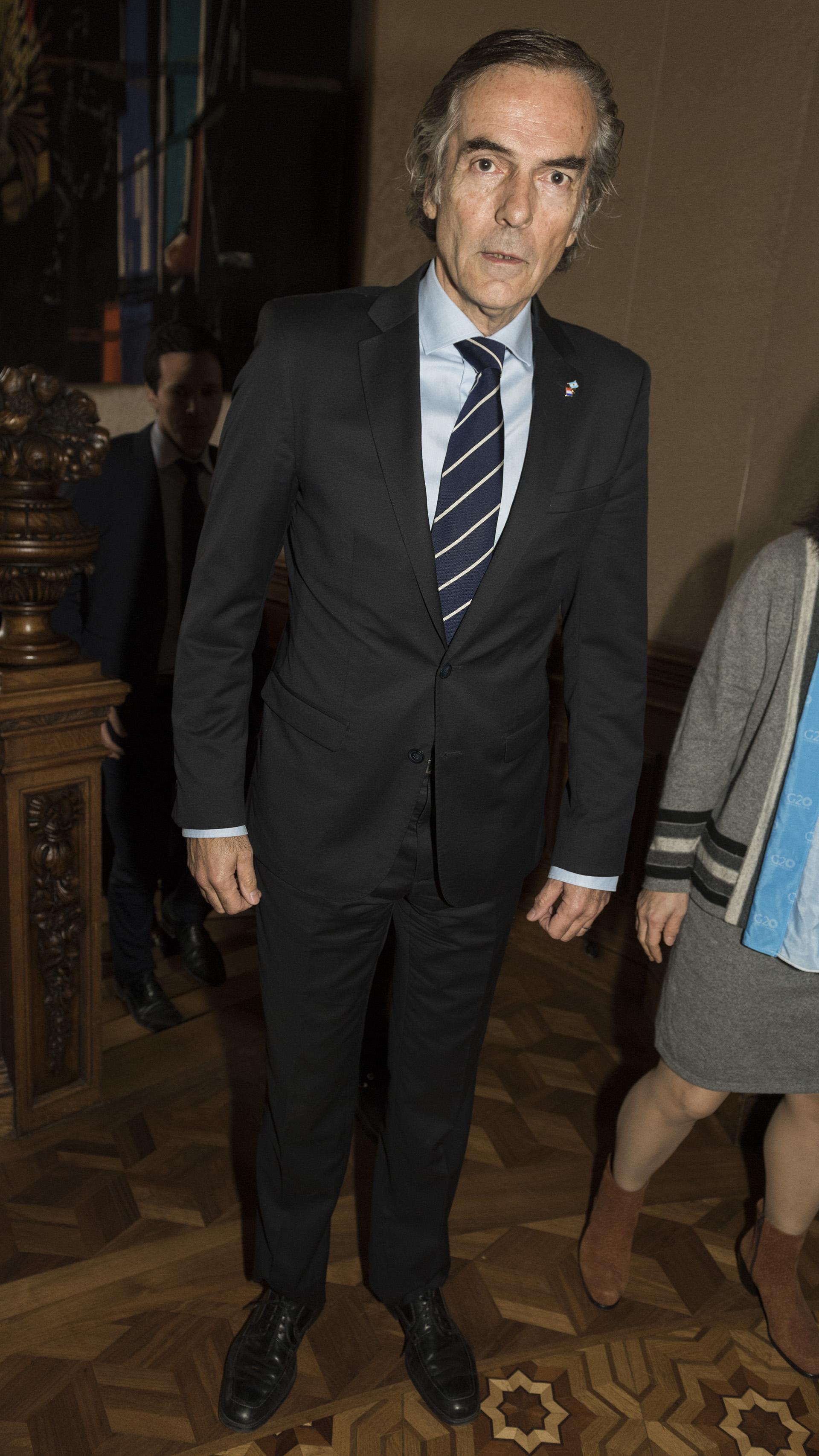 El juez de la Cámara de Casación y presidente del Sistema Interinstitucional de Control de Cárceles, Gustavo Hornos