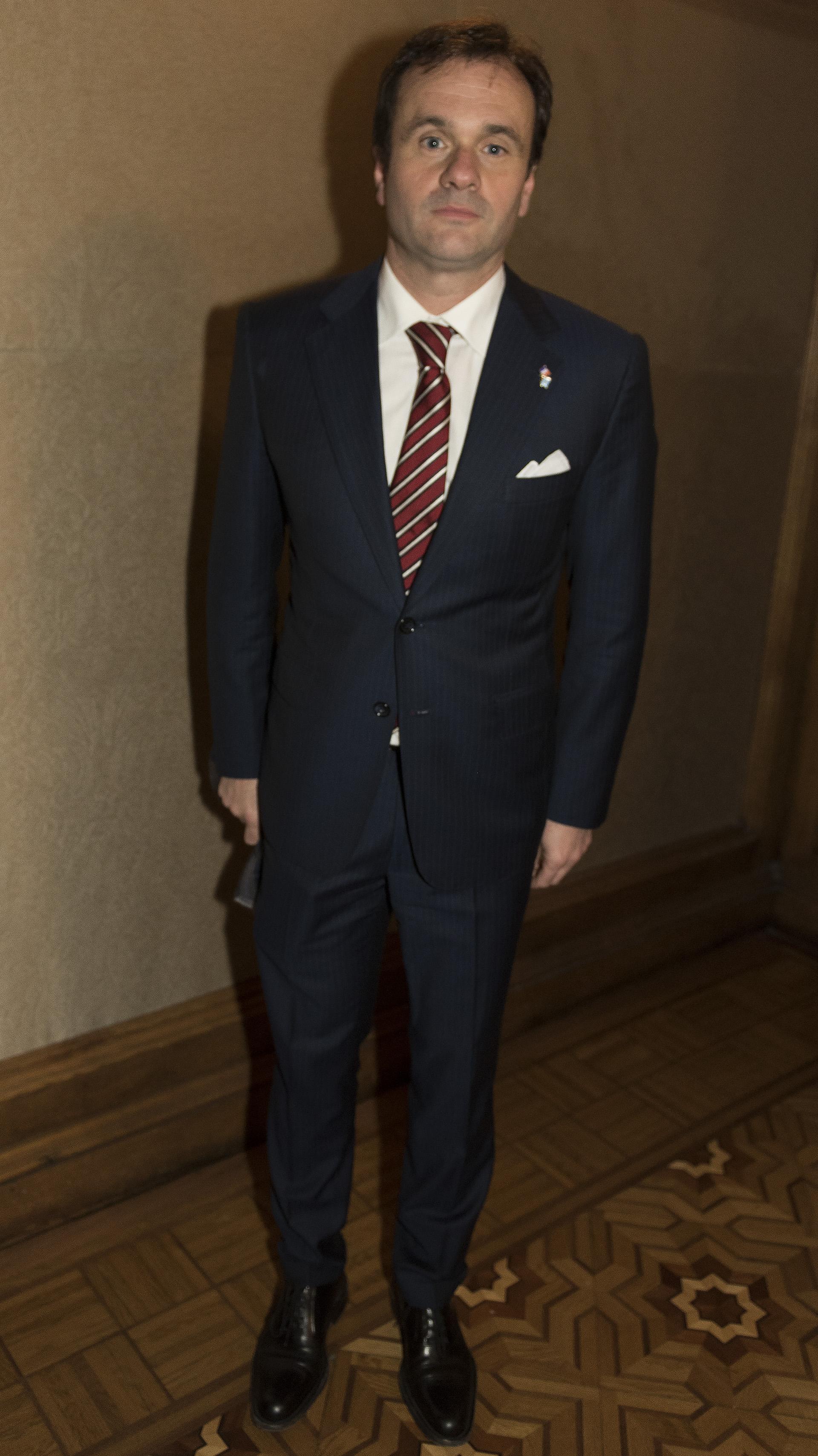 El director de Relaciones Institucionales de La Rural, Juan Pablo Maglier
