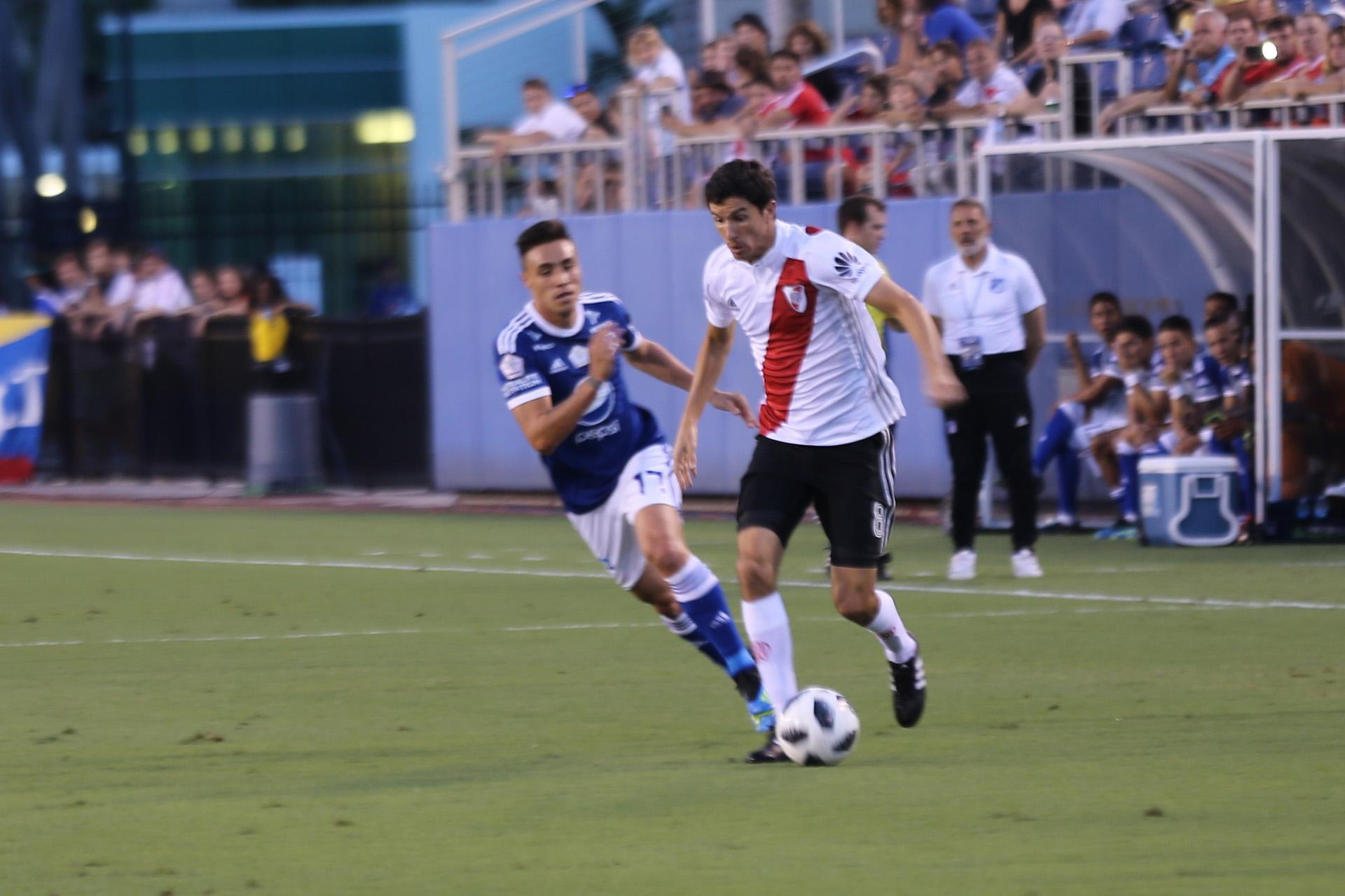 River vs Millonarios, Julio 2018 (Luis Fernandez)