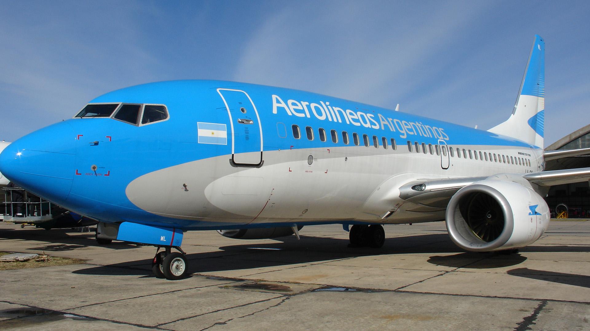 En los últimos tres años Aerolíneas Argentinas sumó 8 aviones a su flota