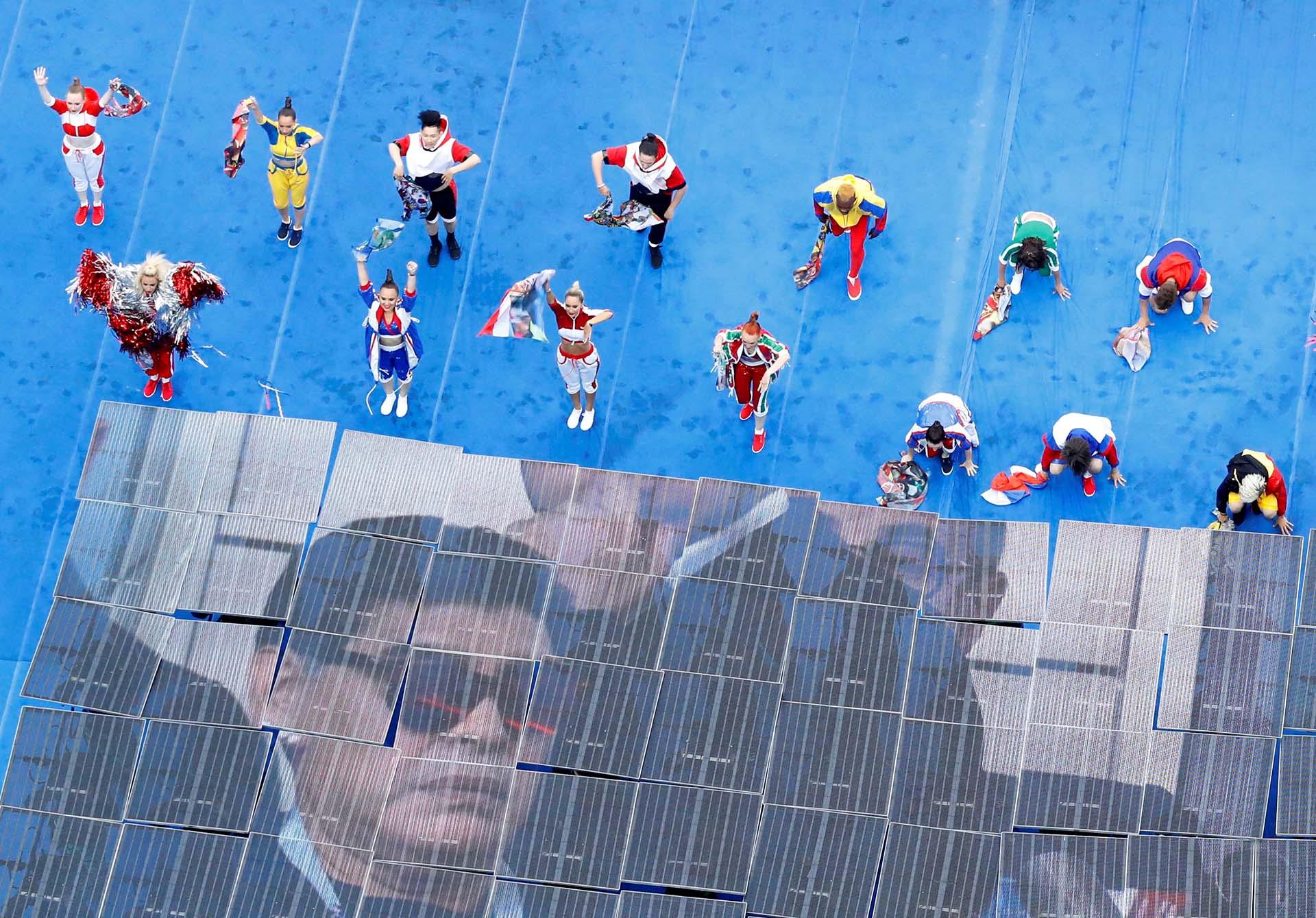 maradona, una de las imágenes icónicas del Mundial