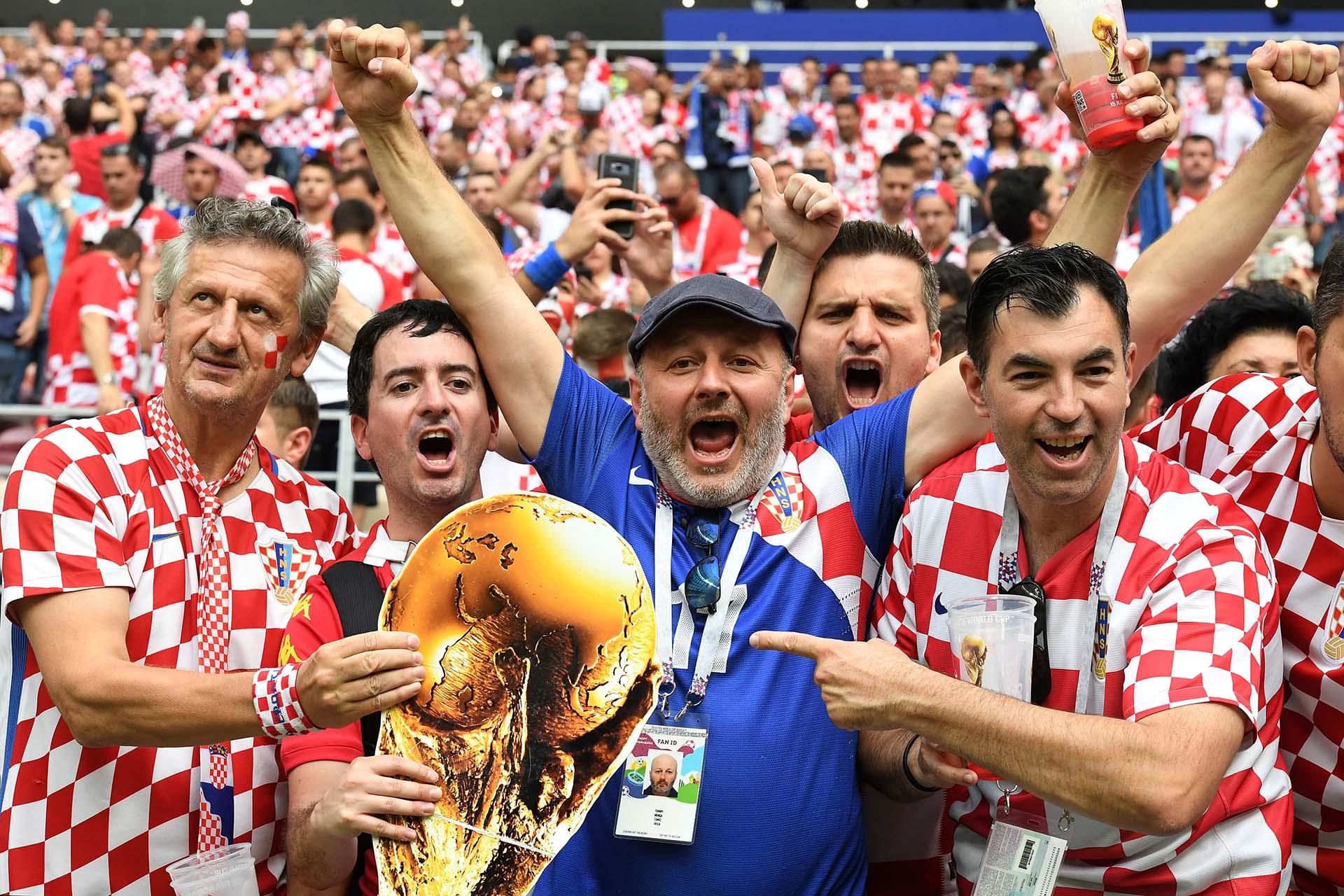 La ilusión croata de ganar su primer Mundial