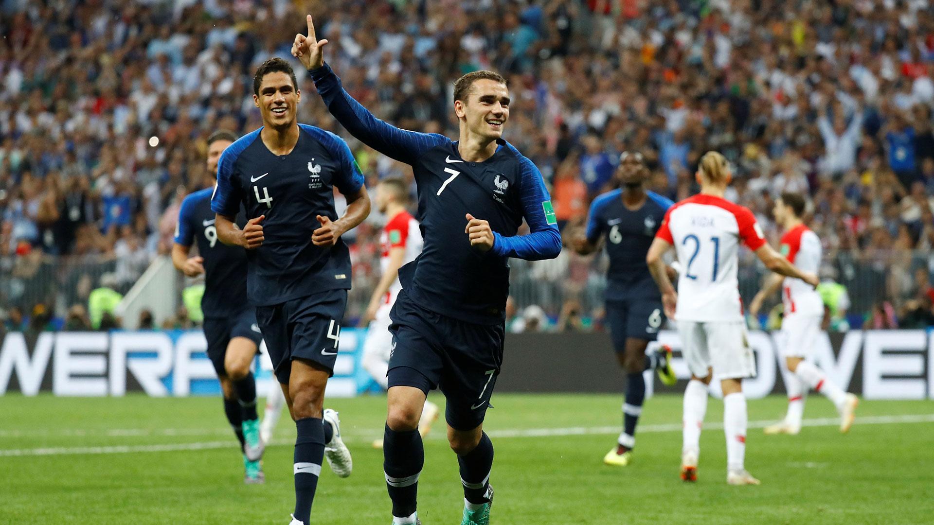 El delantero convirtió un gol ante Crocia (Reuters)