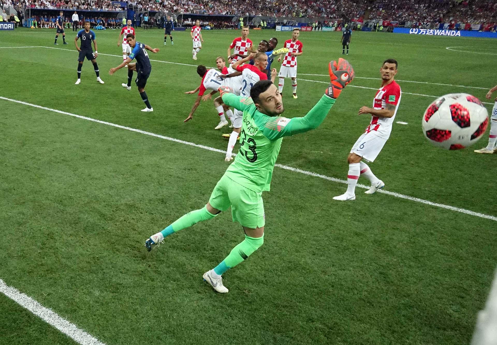 El 1-0 de Francia