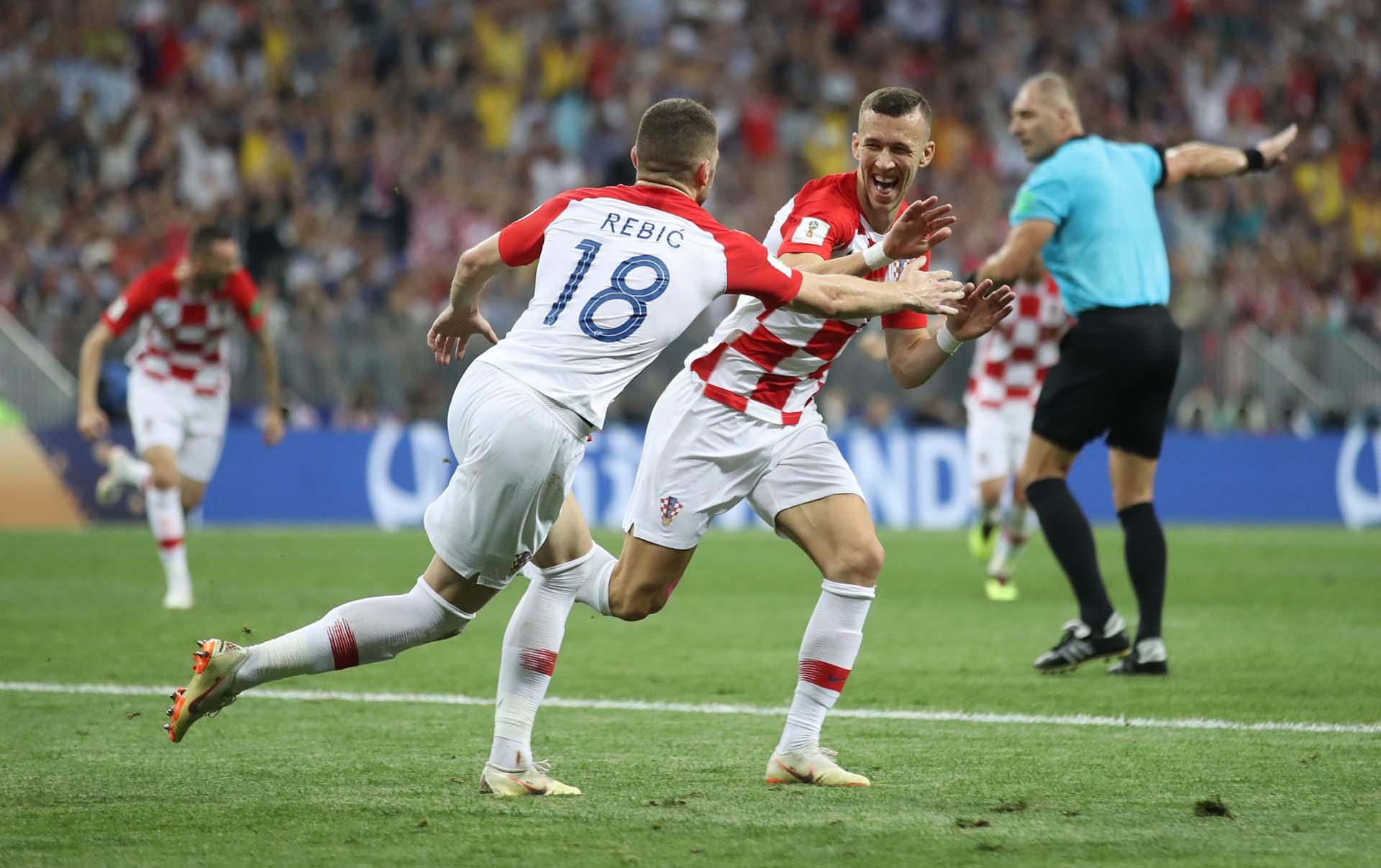Croacia venía de vencer a Inglaterra en las semifinales