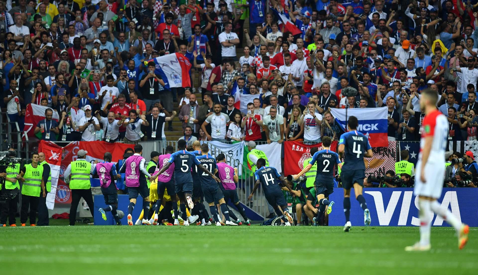 Francia embolsó 38 millones de dólares por ser campeón