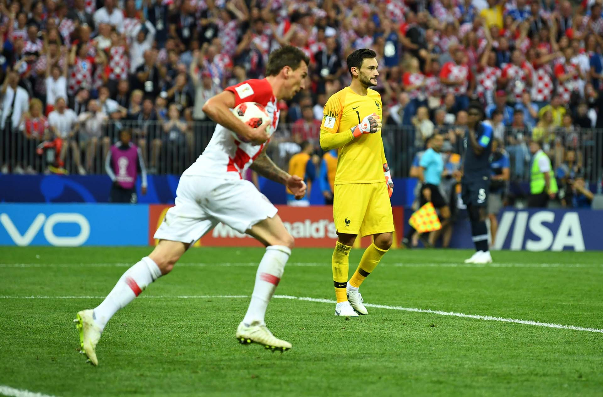 Mandzukic marcó el 4-2 definitivo
