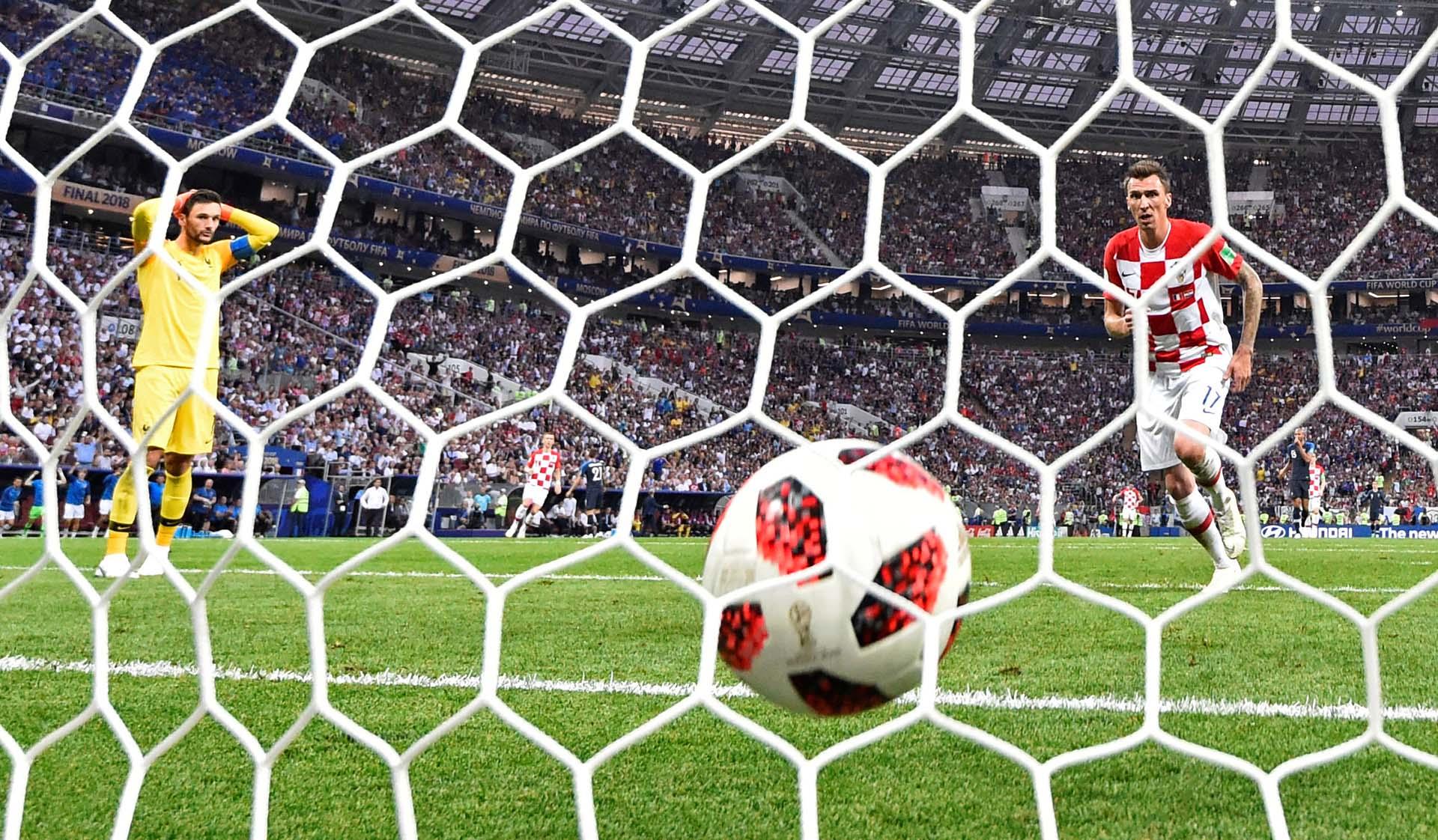 La imagen del gol que cerró el partido