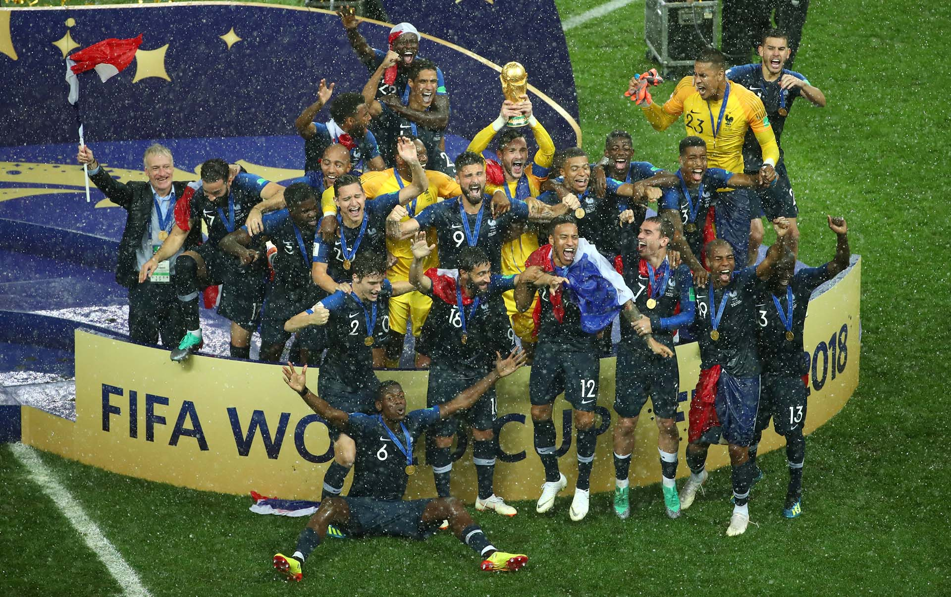 Francia volvió a consagrarse después de 20 años
