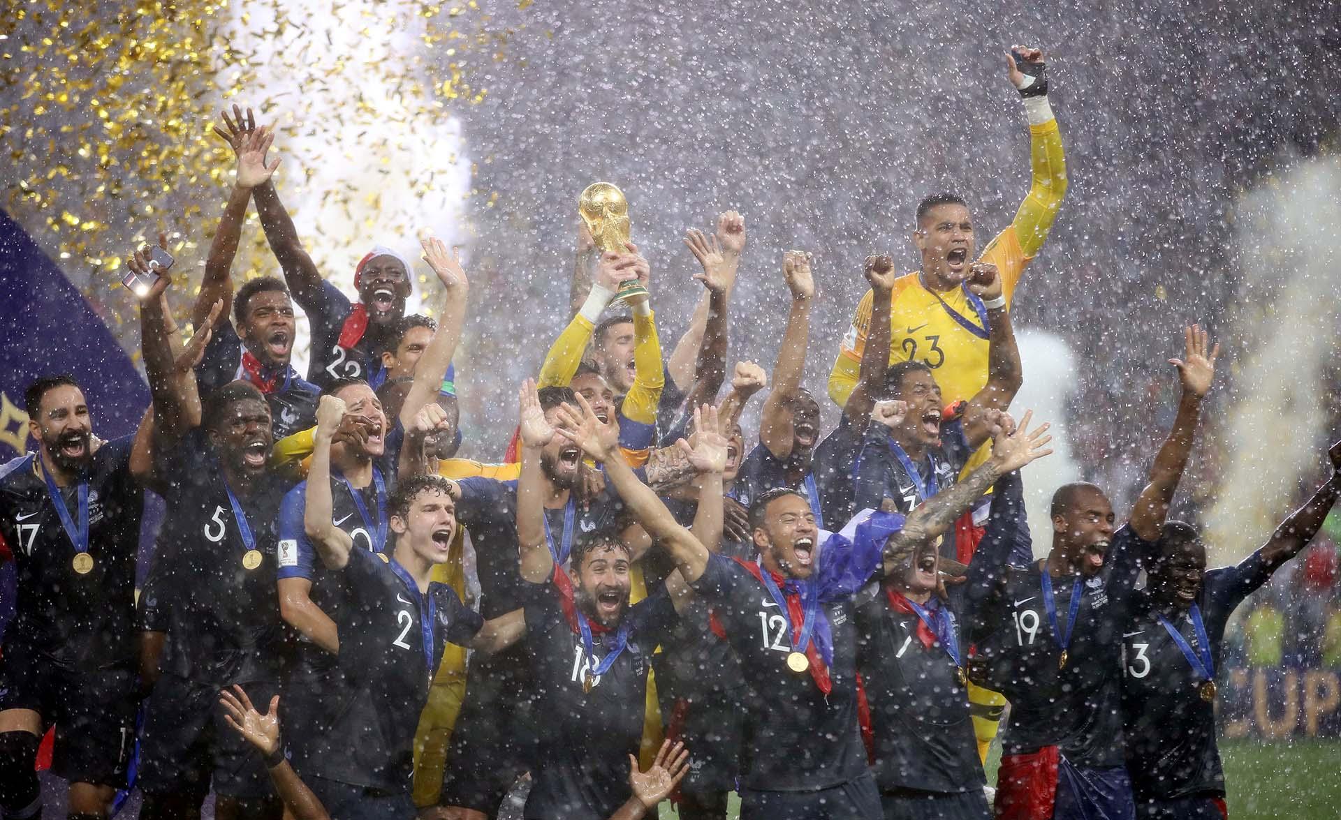 Francia festejó el segundo título de su historia