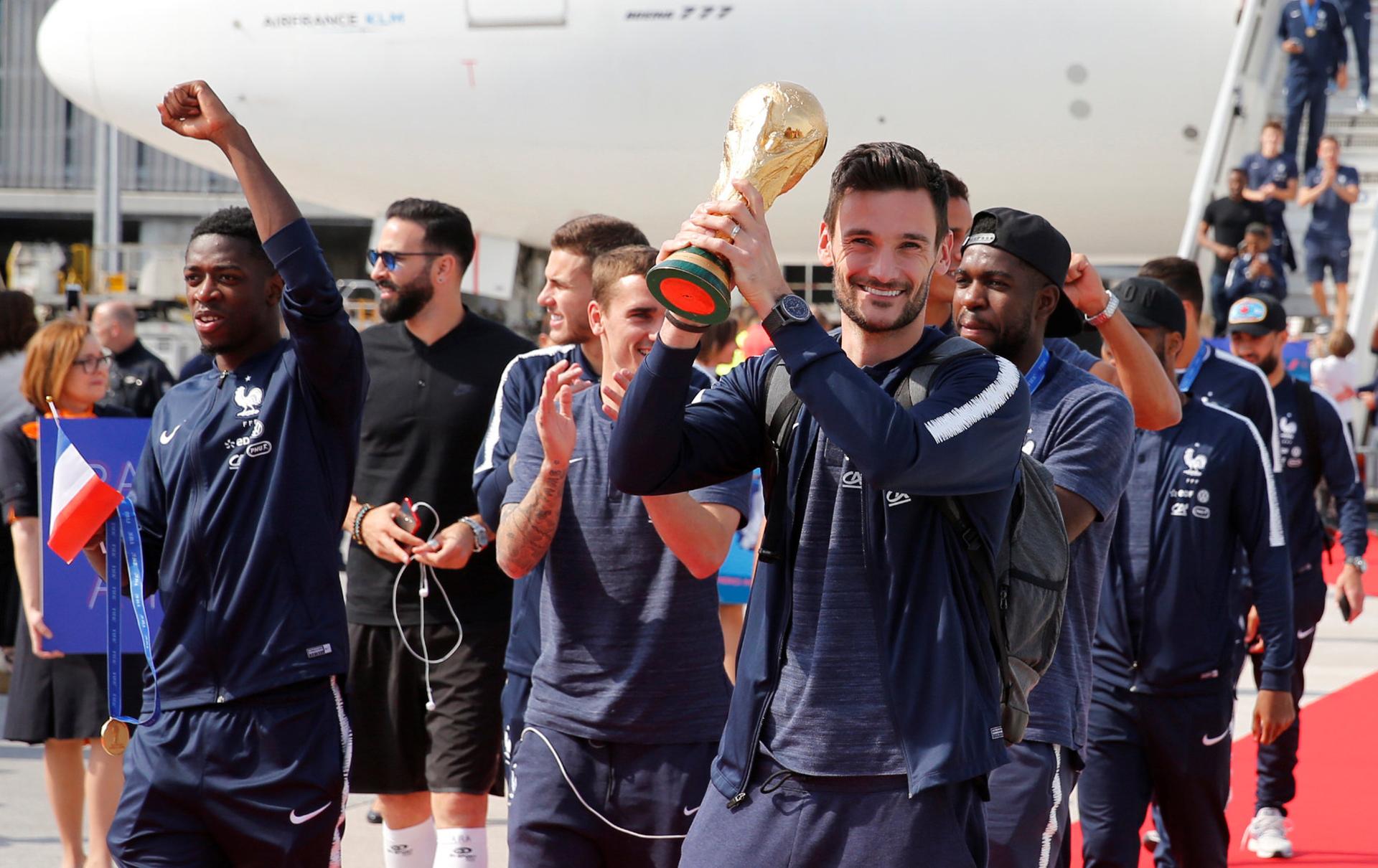 Este es el segundo trofeo que conquista Francia en su historia