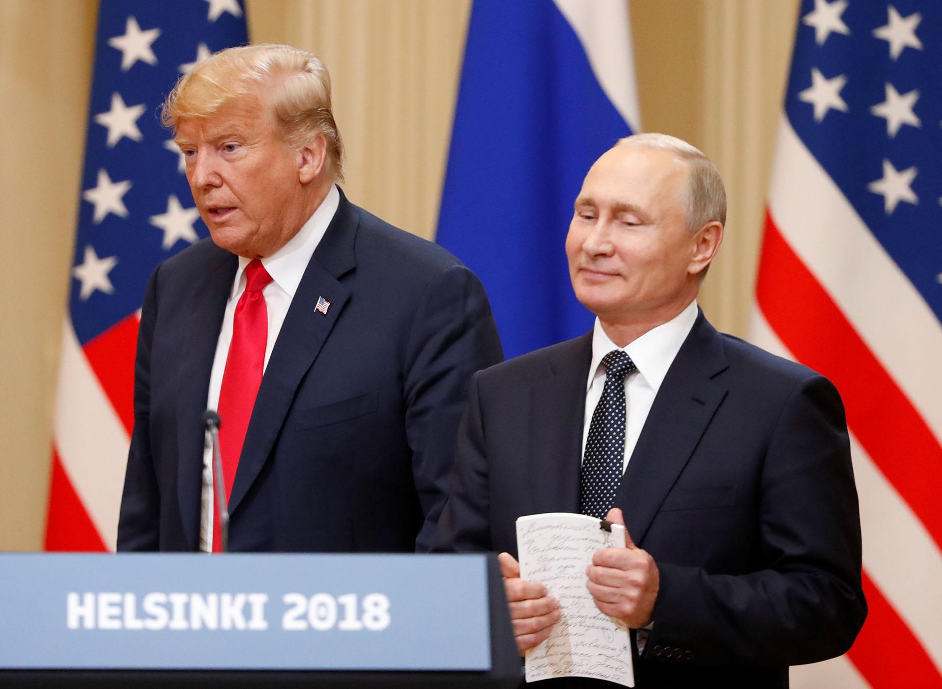 Trump aplicó esta medida tras la interferencia rusa en las elecciones presidenciales de 2016(REUTERS/Grigory Dukor)