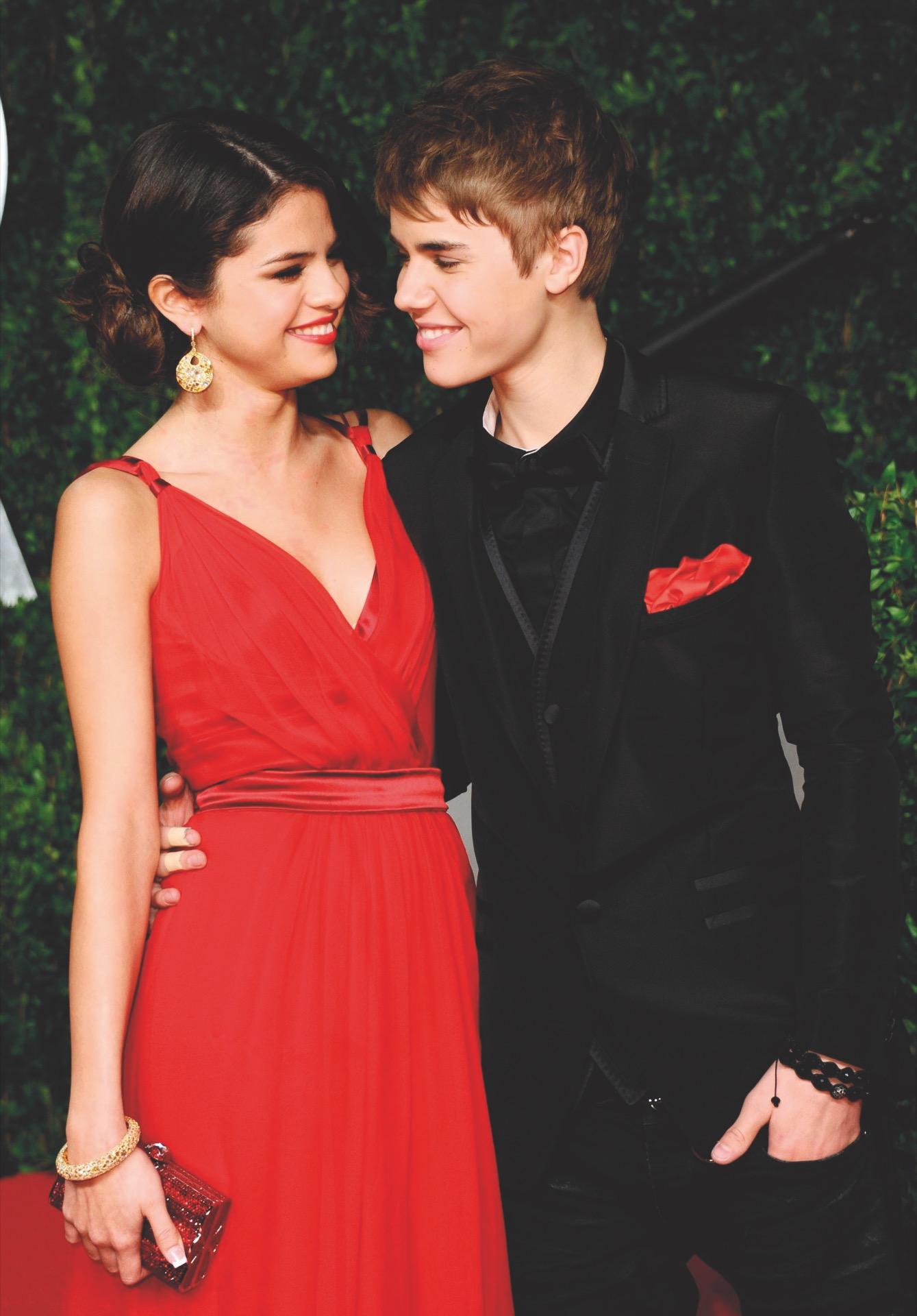 Justin Bieber y Selena Gómez fueron noviosen periodos intermitentes entreel 2010 y el 2017