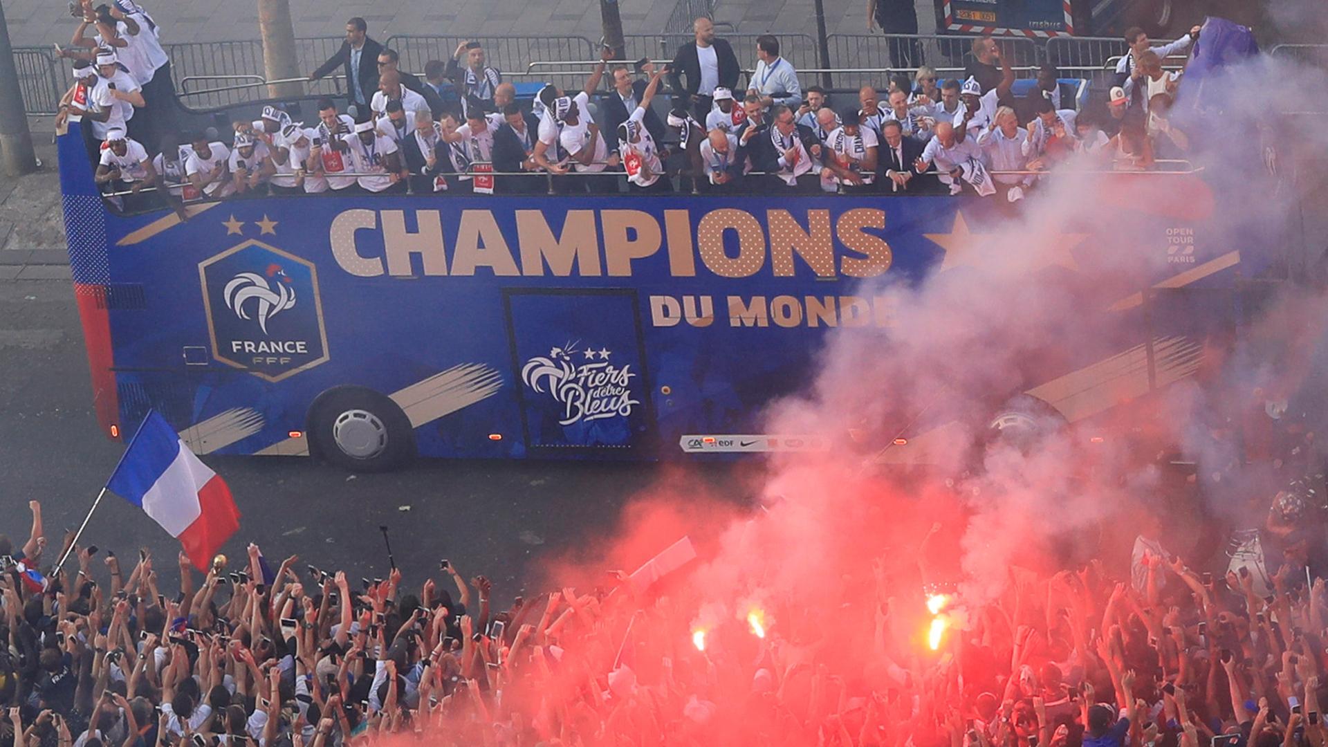 Francia se coronó campeón el Mundo tras vencer a Croacia 4-2 en la final