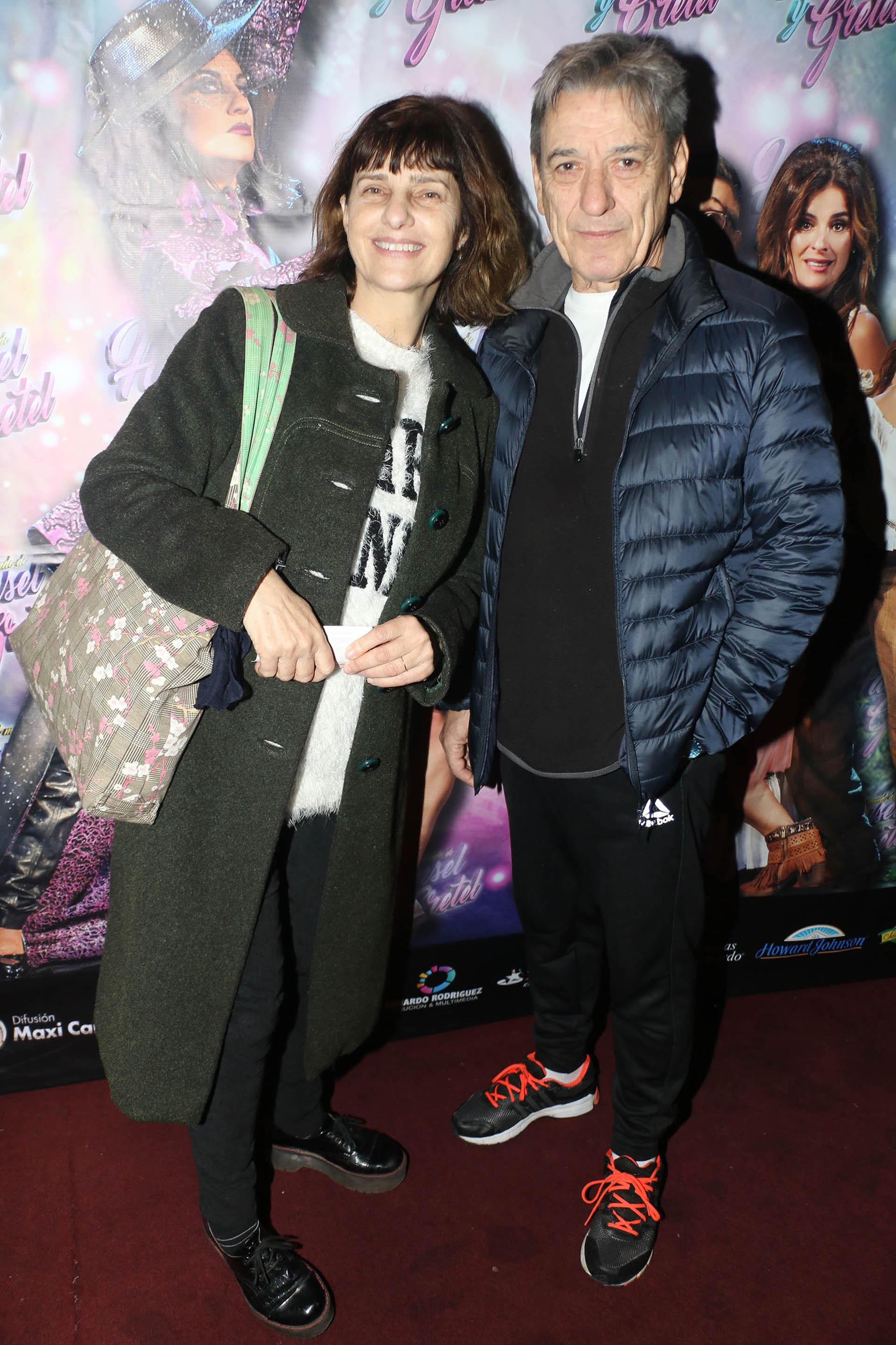 Silvia Kutika y Aldo Pastur
