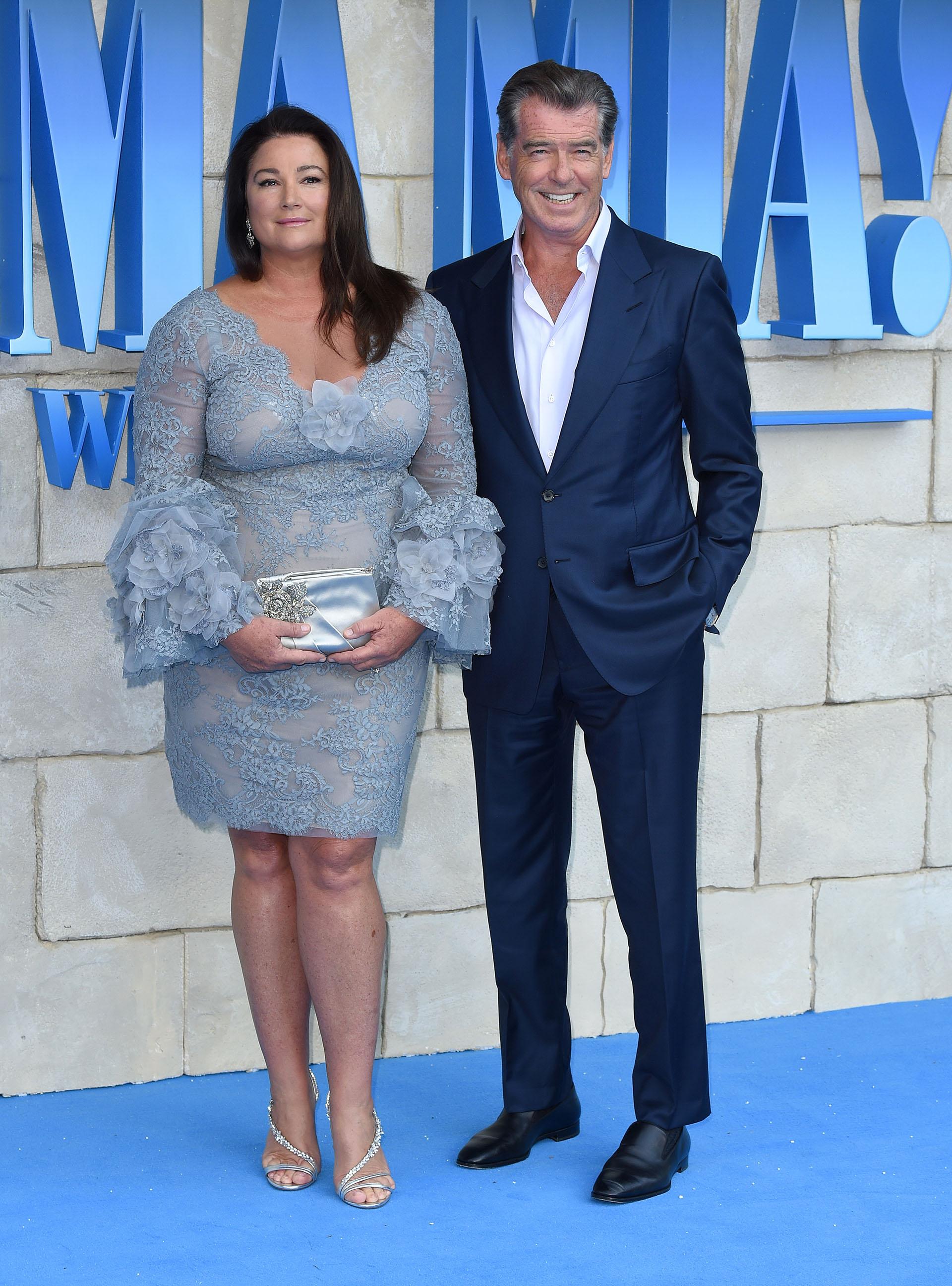 Pierce Brosnan y su mujer Keely Shaye Smith