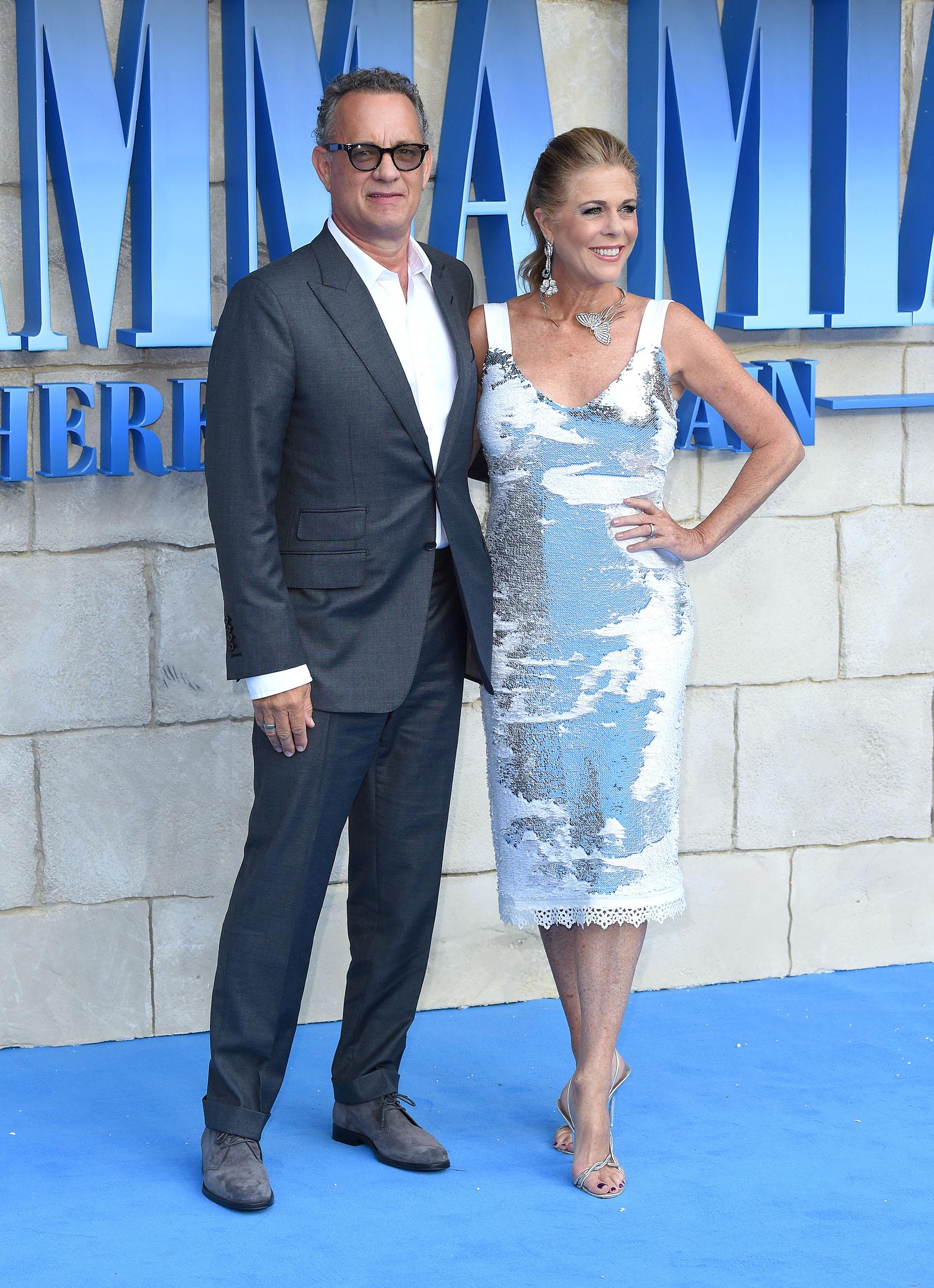 Tom Hanks y Rita Wilson, una pareja que apuesta a la elegancia