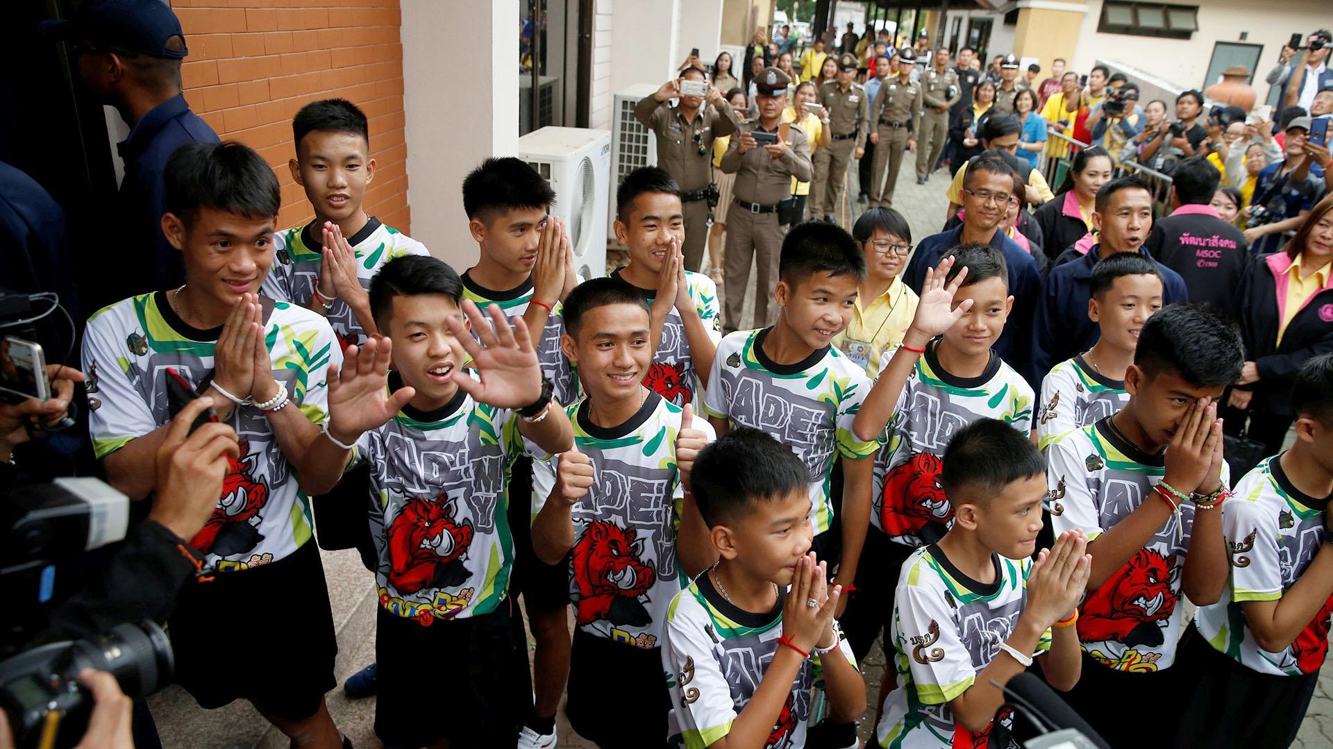 La alegría y el agradecimiento marcó cada gesto de los rescatados