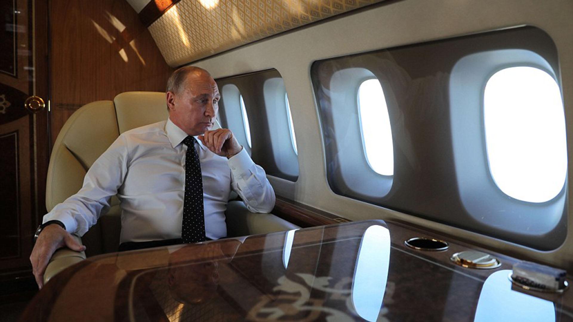 El presidente ruso, Vladimir Putin, tiene cuatro aviones idénticos (Foto: Reuters)