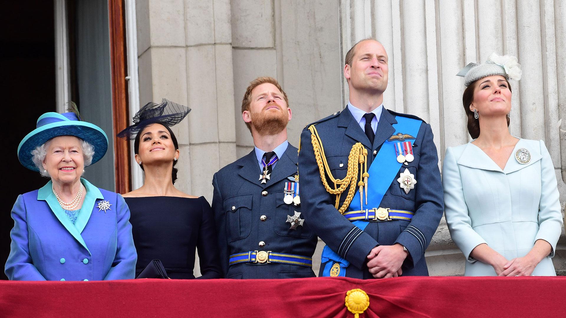 Por convención, los miembros cercanos de la familia real británica no votan (AFP)