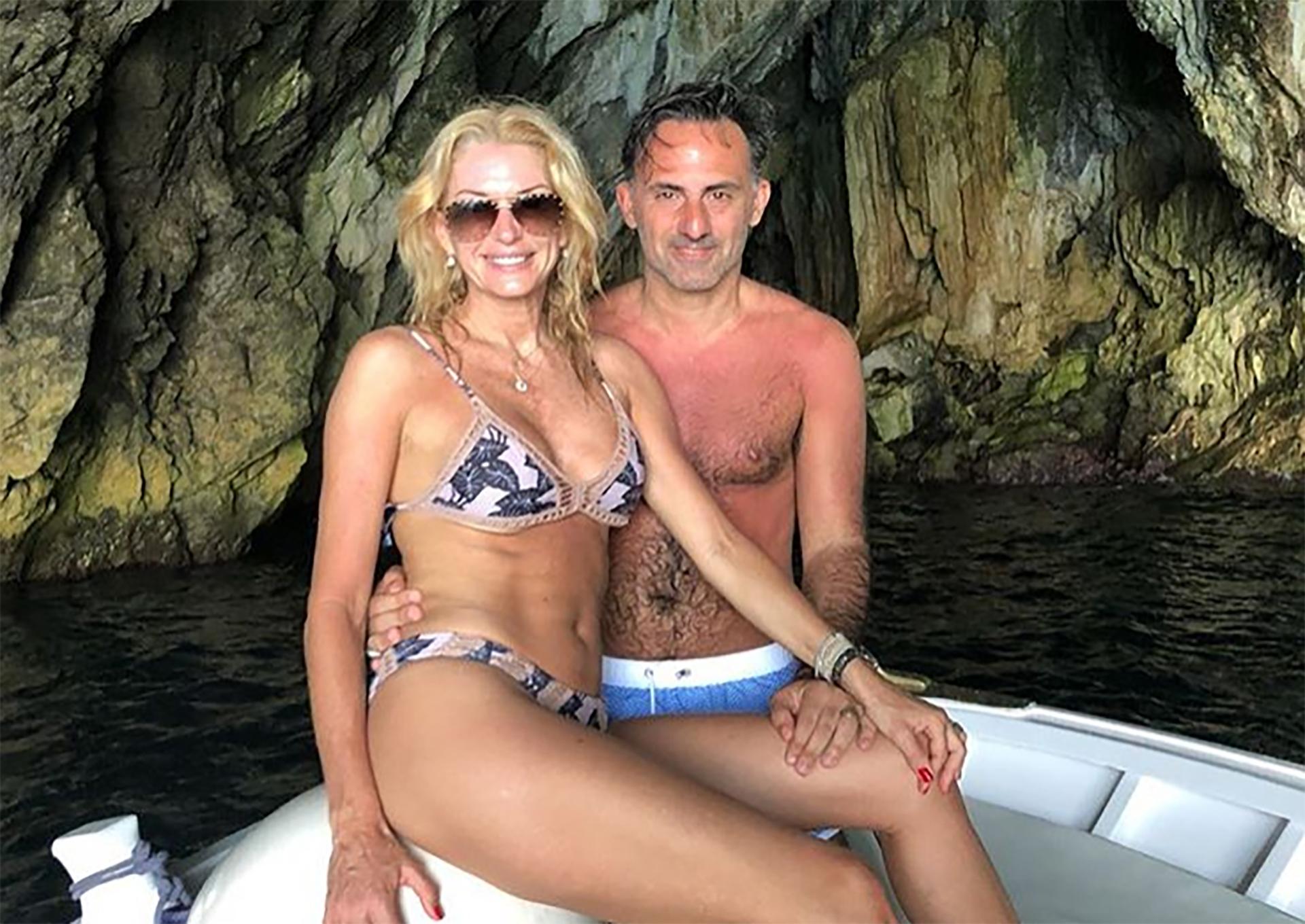 Yanina y Diego Latorre se fueron de vacaciones a Italia. La pareja visitó diversos lugares como Roma, Positano y la Costa Amalfitana (Instagram)
