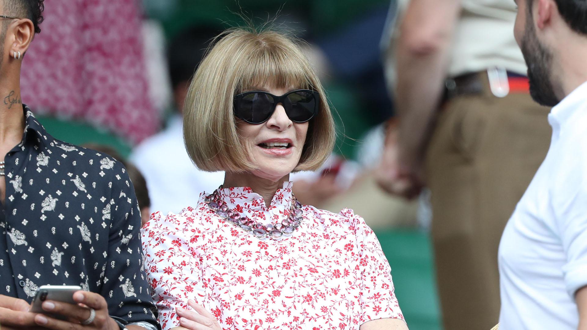 Anna Wintour, cada vez más cerca de dejar la dirección de Vogue, que conduce hace casi tres décadas