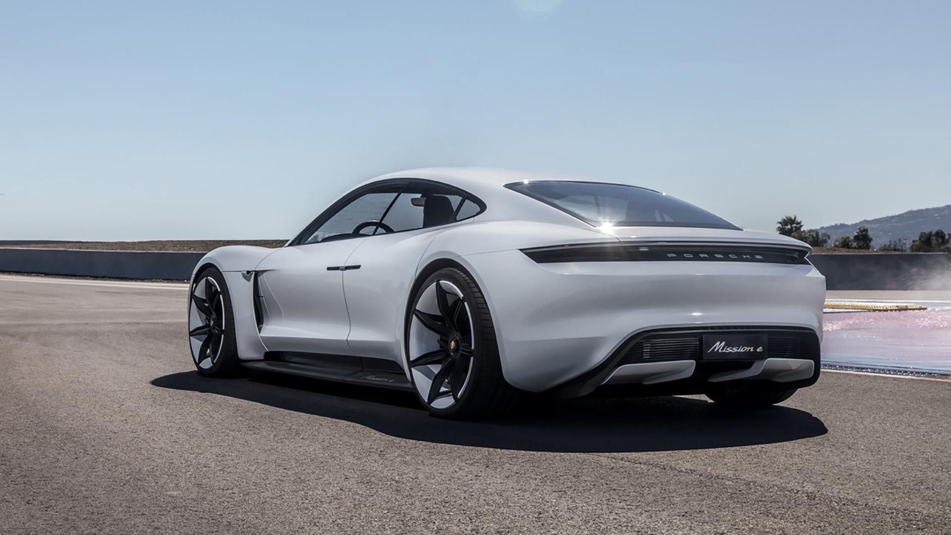 Será el primer vehículo 100% eléctrico de Porsche
