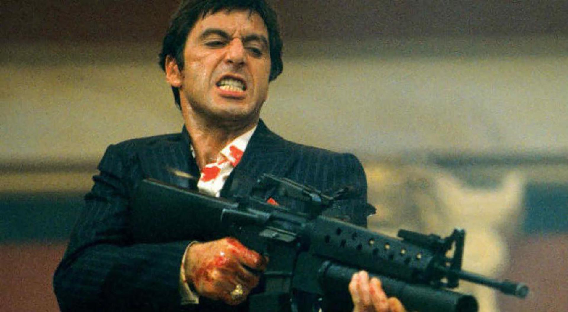 """Al Pacino en """"Scarface"""""""