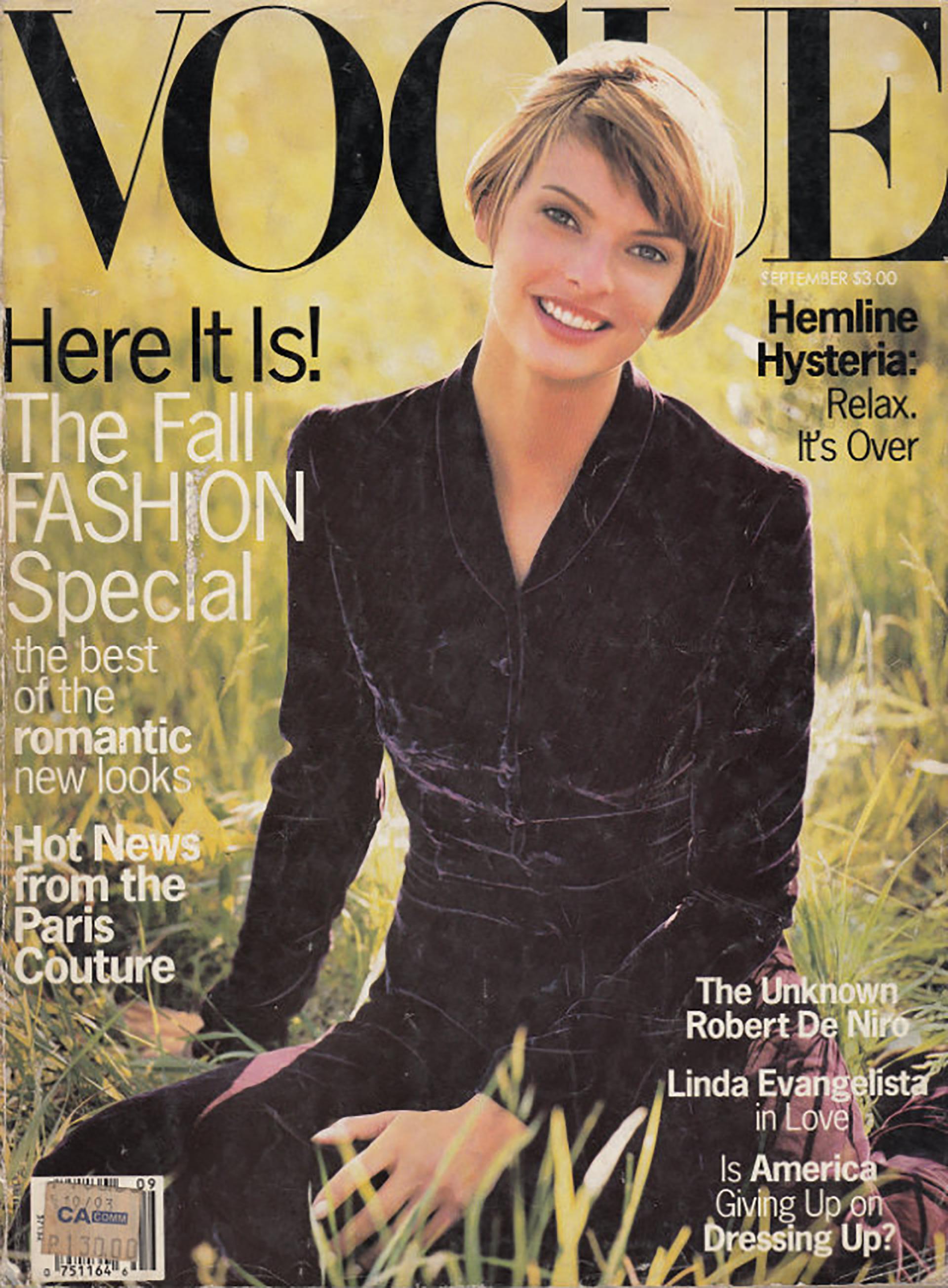 1993, anticipaba la moda de otoño
