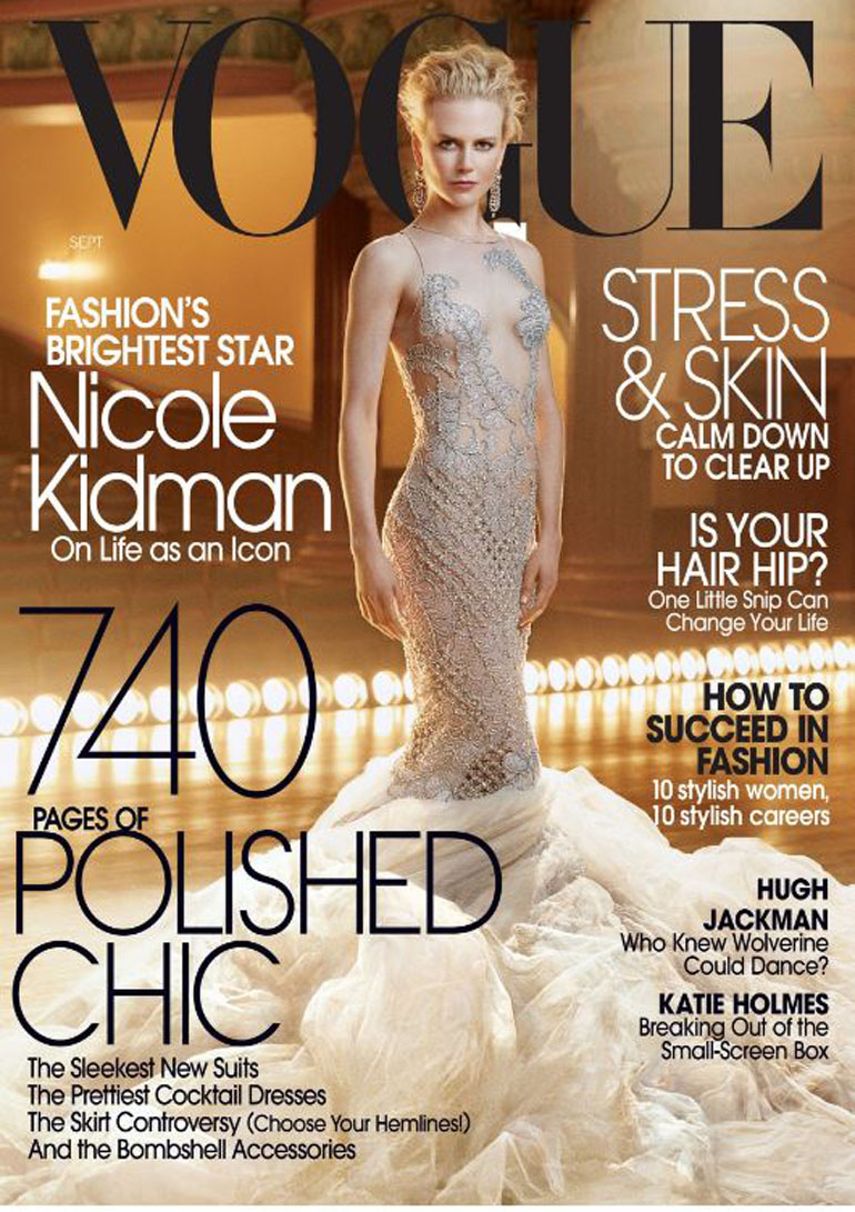 Musa de todos los tiempos: Nicole Kidman por la lente de Annie Leibovitz en 2003