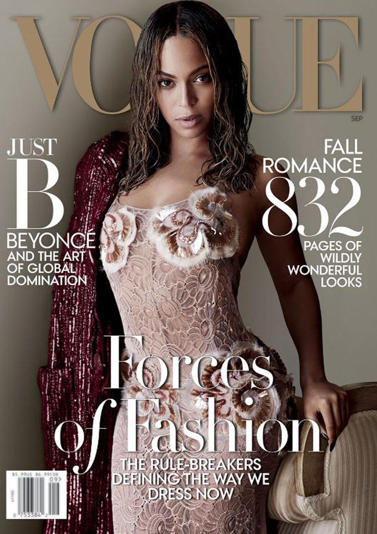 El número de Beyoncé entre los más vendidos por la revista un retrato de Mario Testino
