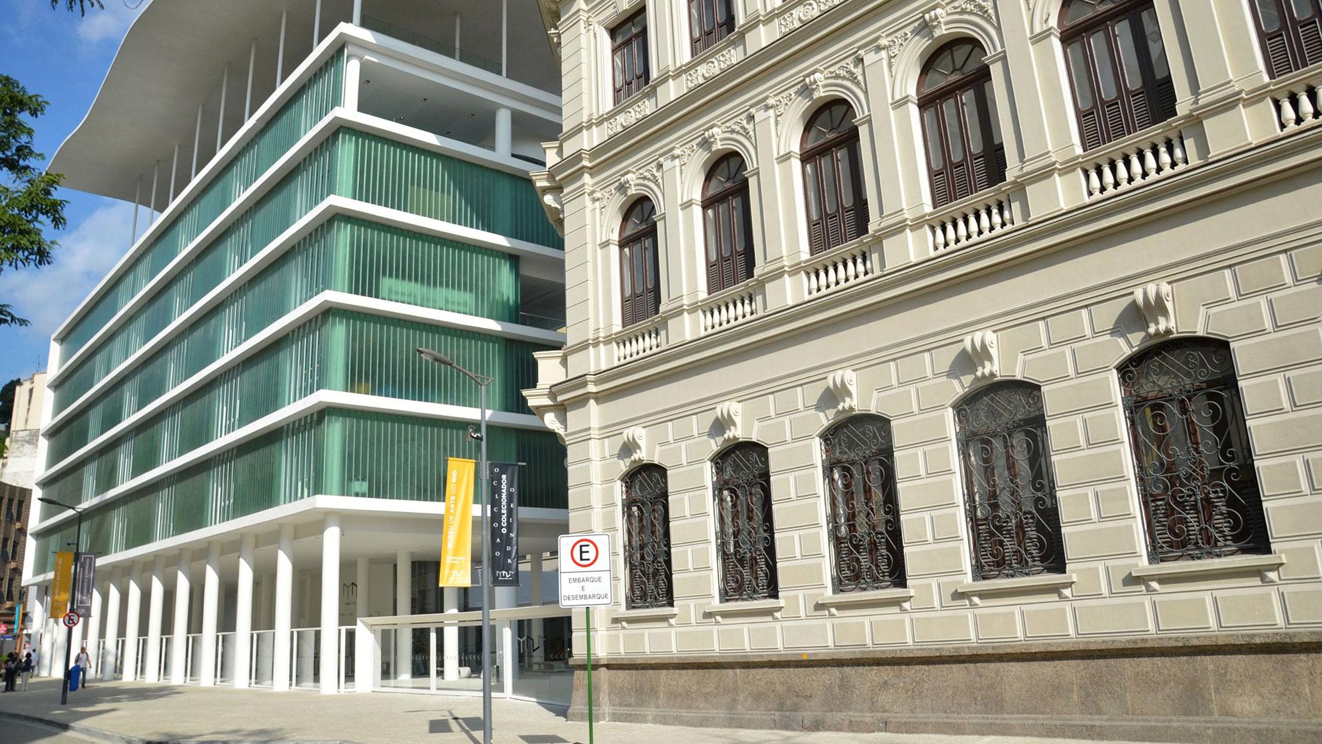 El Museo de Arte de Río, ideal para niños y adolescentes