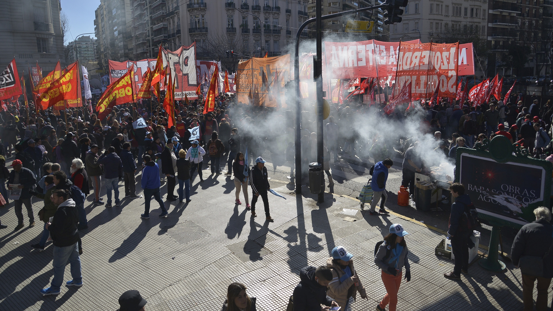 Protestas contra el G20 (Foto de archivo)
