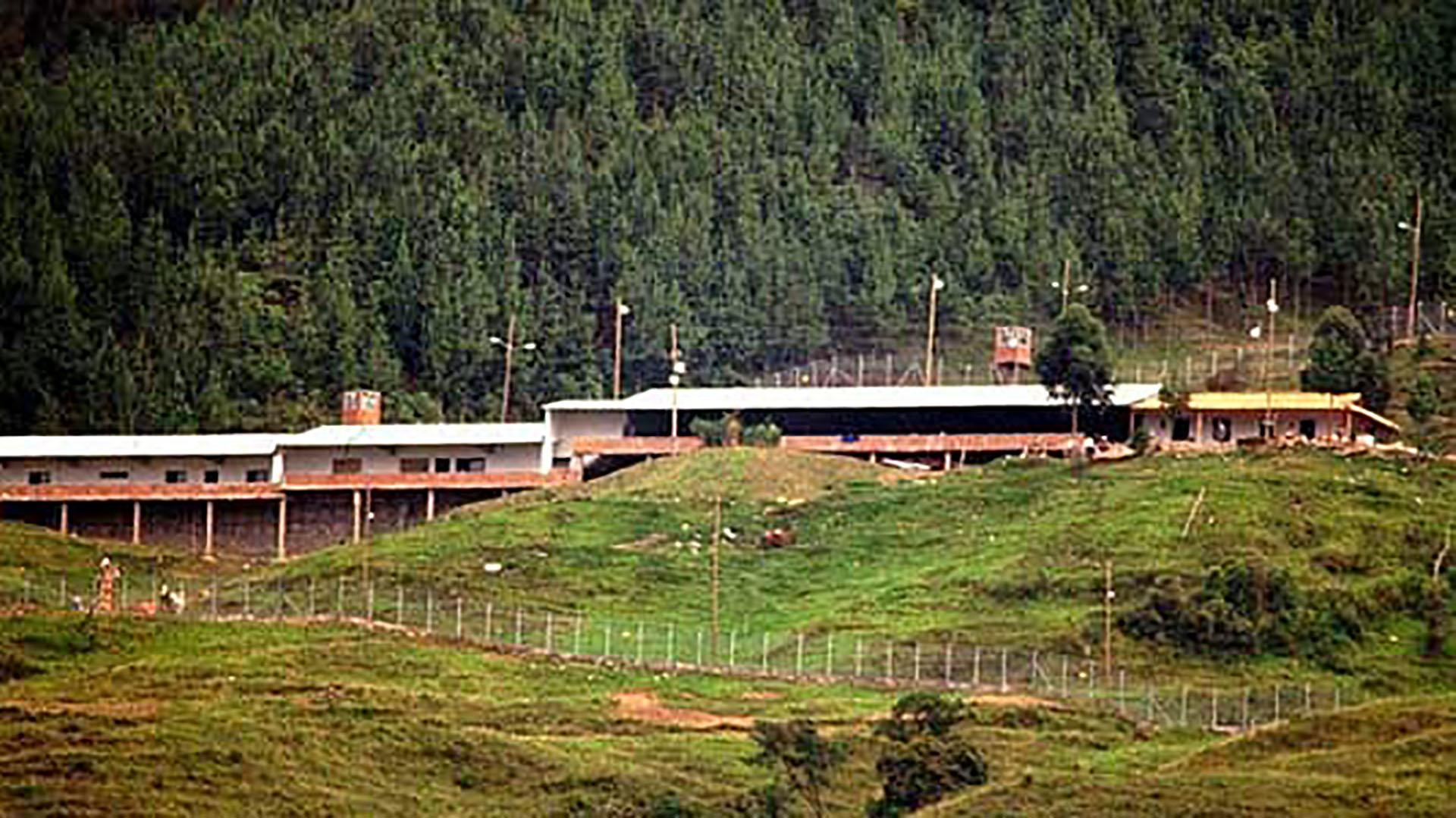 La Catedral, una cárcel mandada a construir por Pablo Escobar