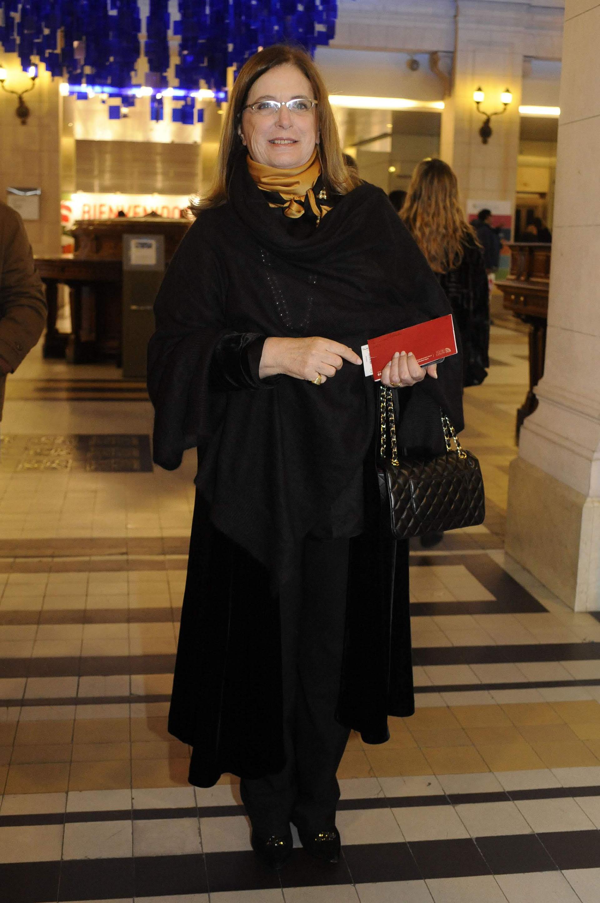 La diputada Carmen Polledo