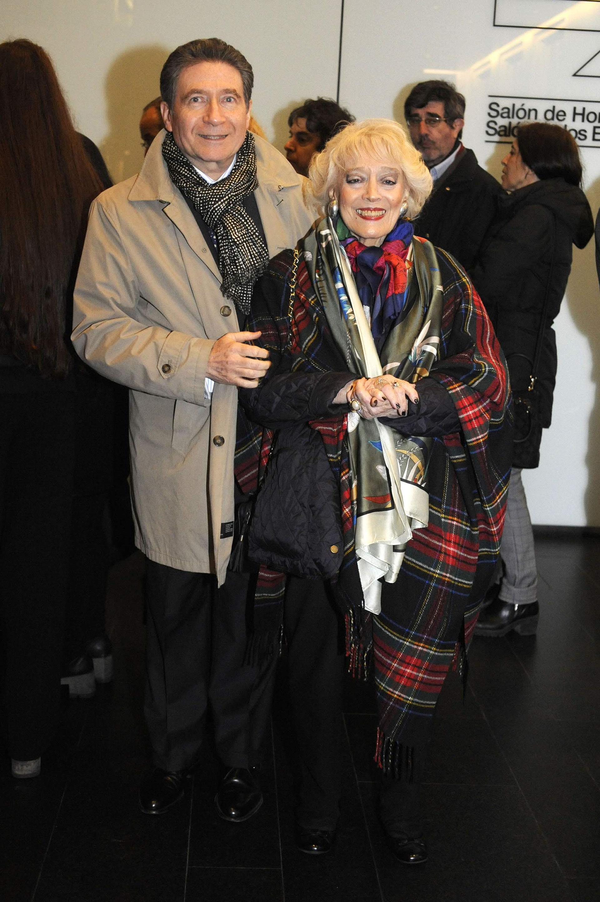 El embajador de Francia en la Argentina, Pierre Henri Guignard y su mujer