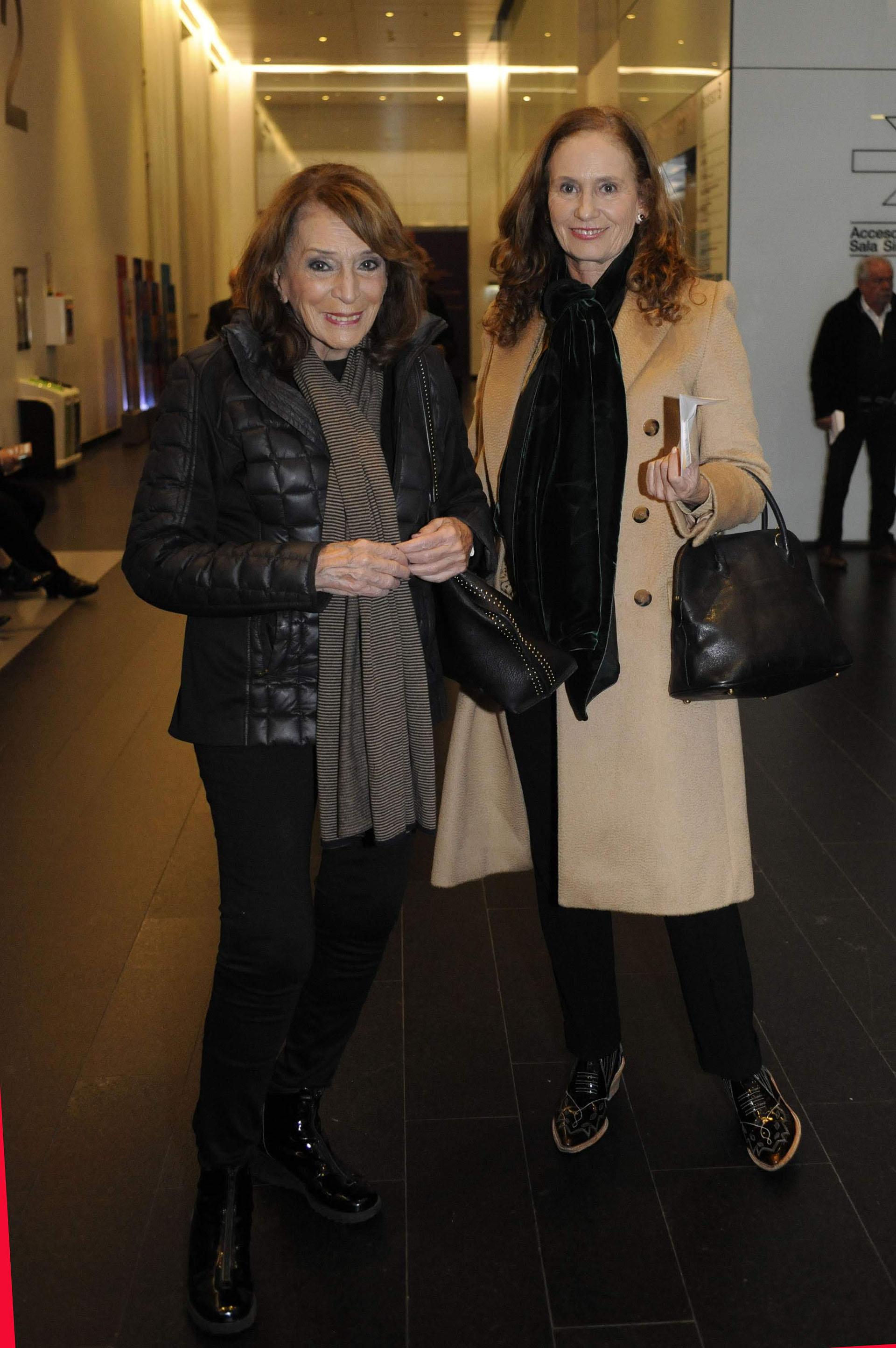 Magdalena Ruiz Guiñazú y Paula Doretti