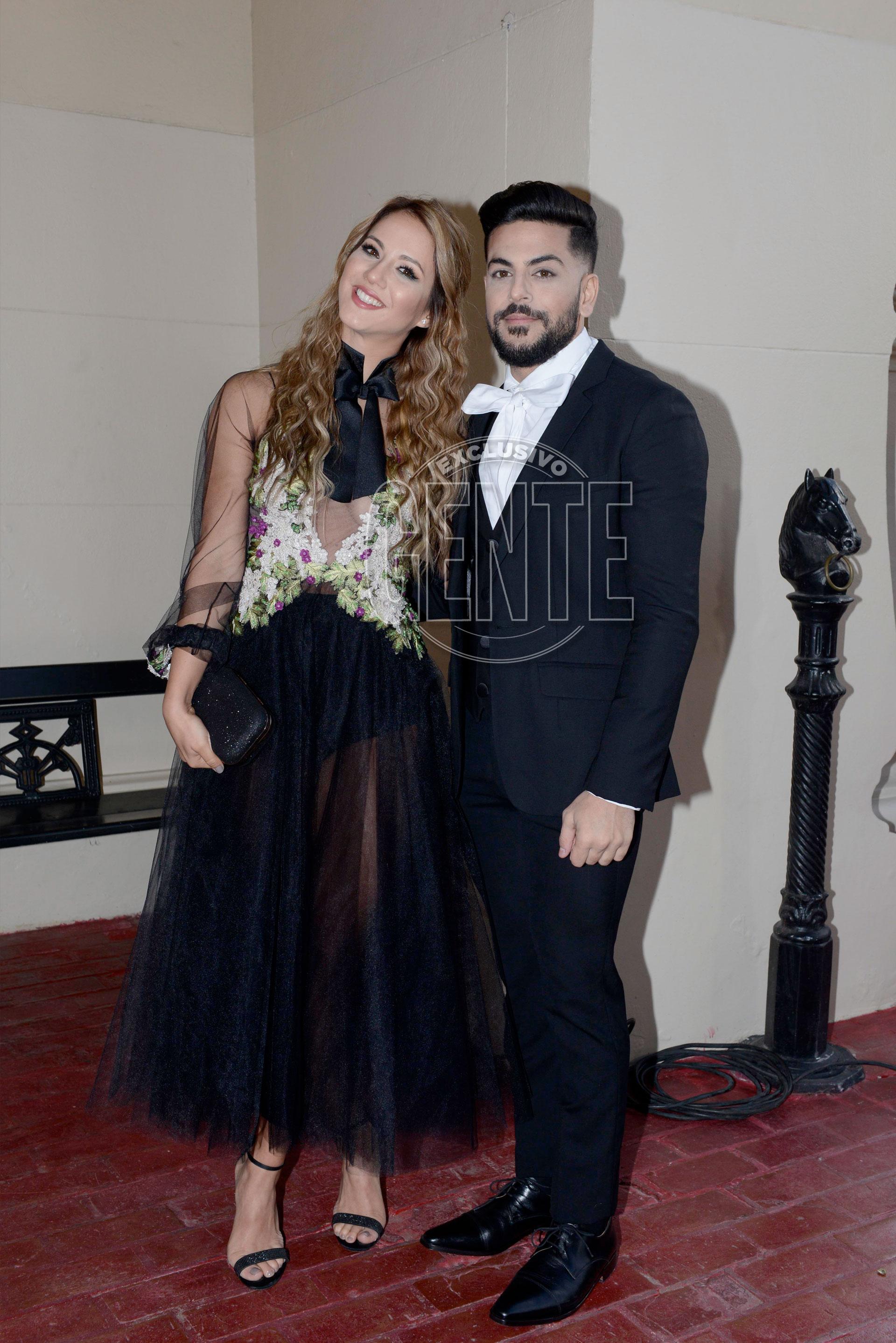 Flor Vigna y su bailarín (Foto Maximiliano Vernazza/GENTE)