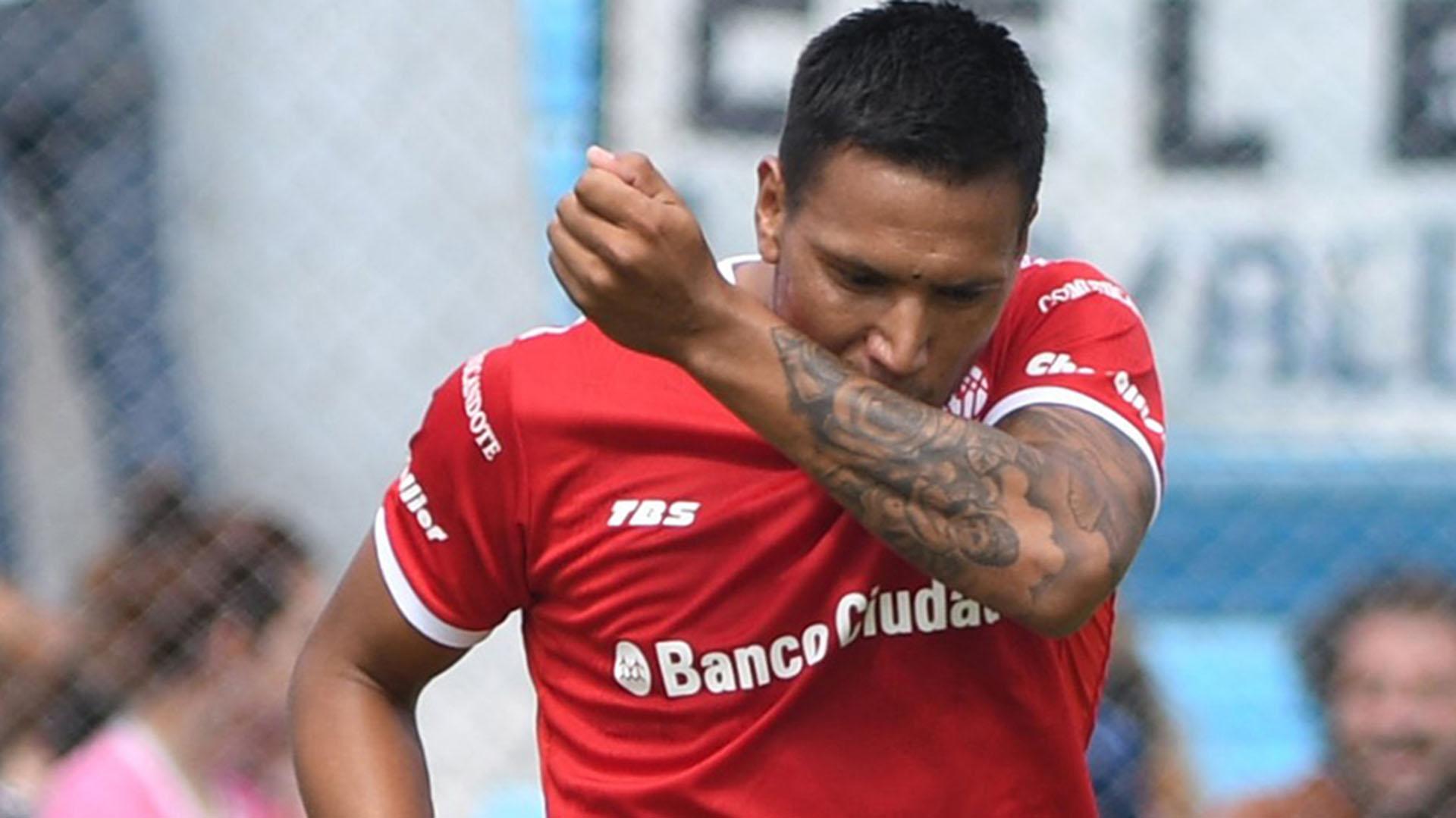 Chávez marcó el 1-0 (Telam)