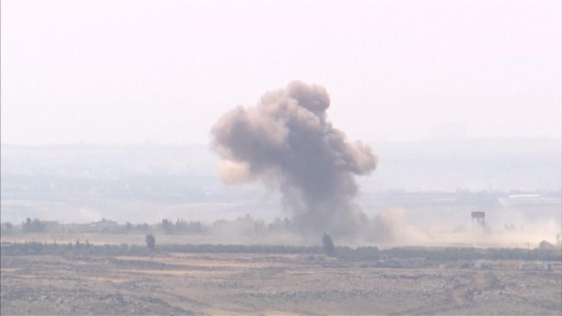 La guerra civil en Siria