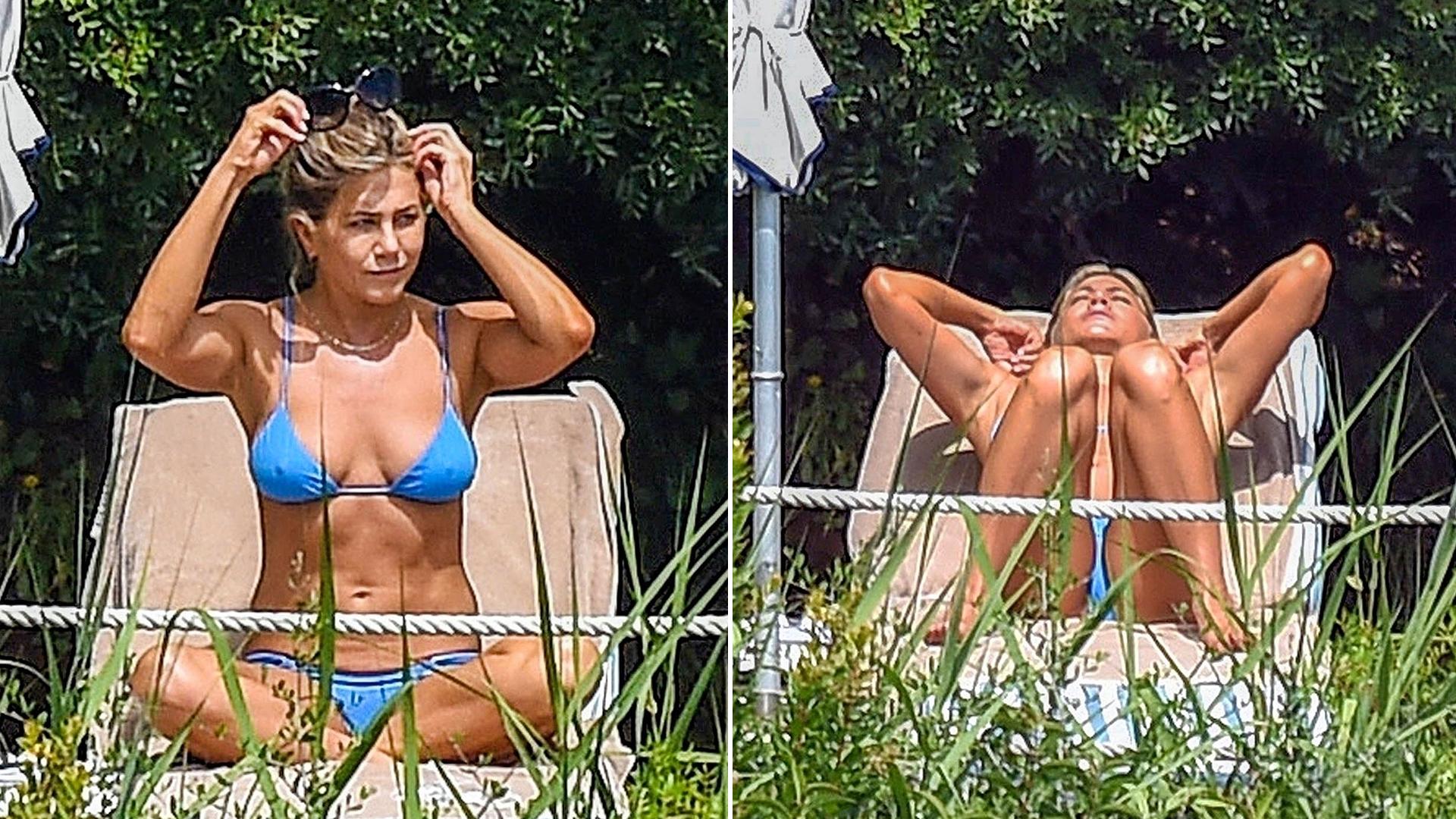 Al verla en una ocasión en bikini, los medios especularon con un posible embarazo de la actriz