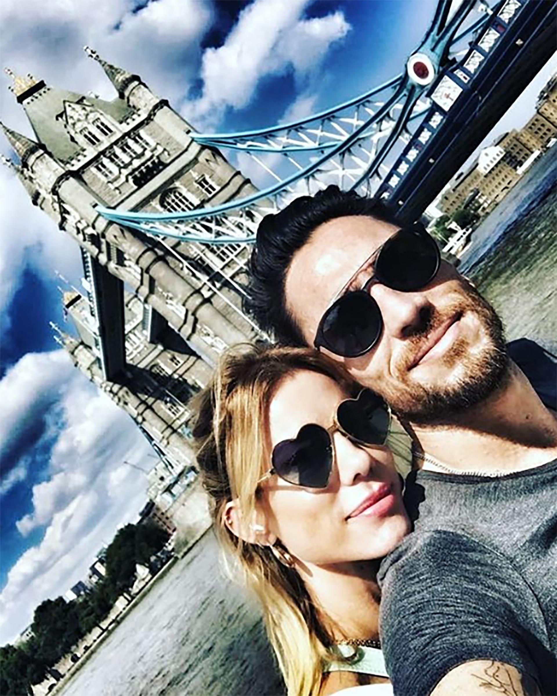 Nicole Neumann realizó una escapada romántica a Europa con su nuevo novio, Matías Tasín
