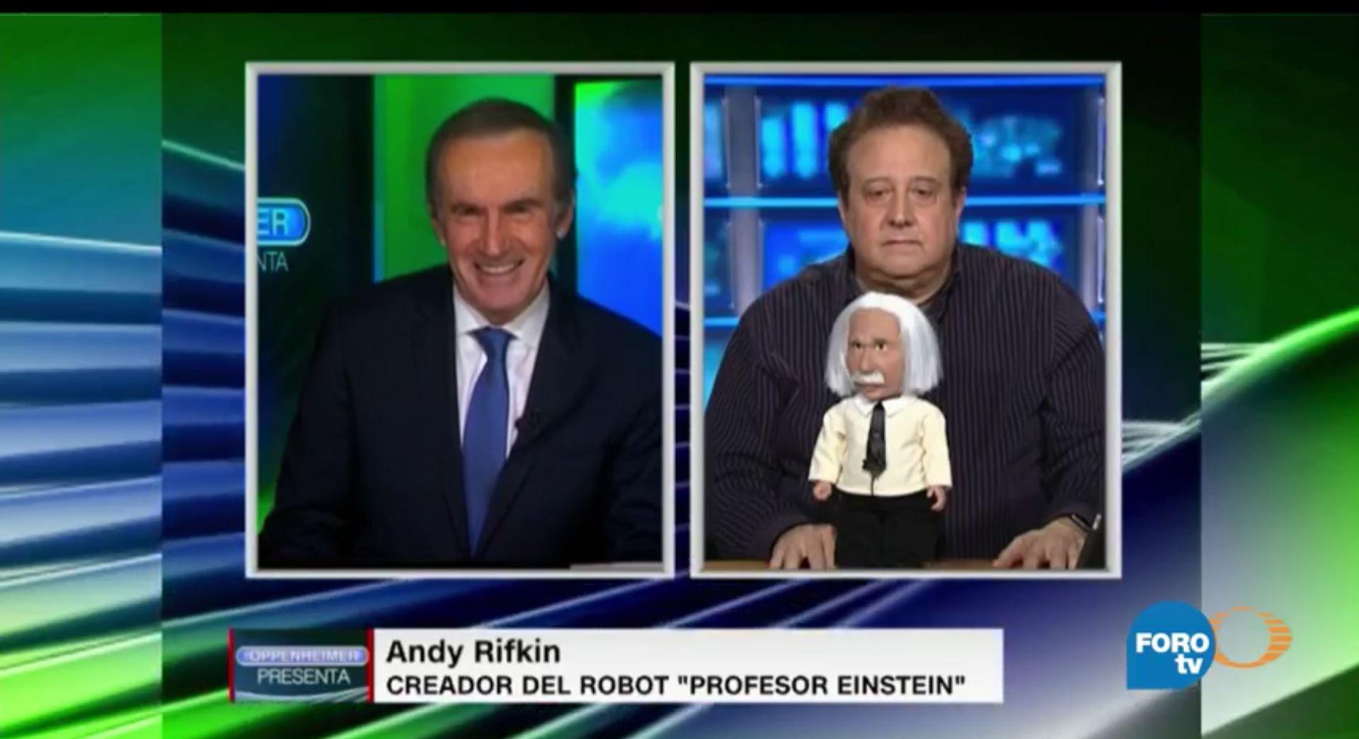La entrevista de Andrés Oppenheimer con el Profesor Einstein