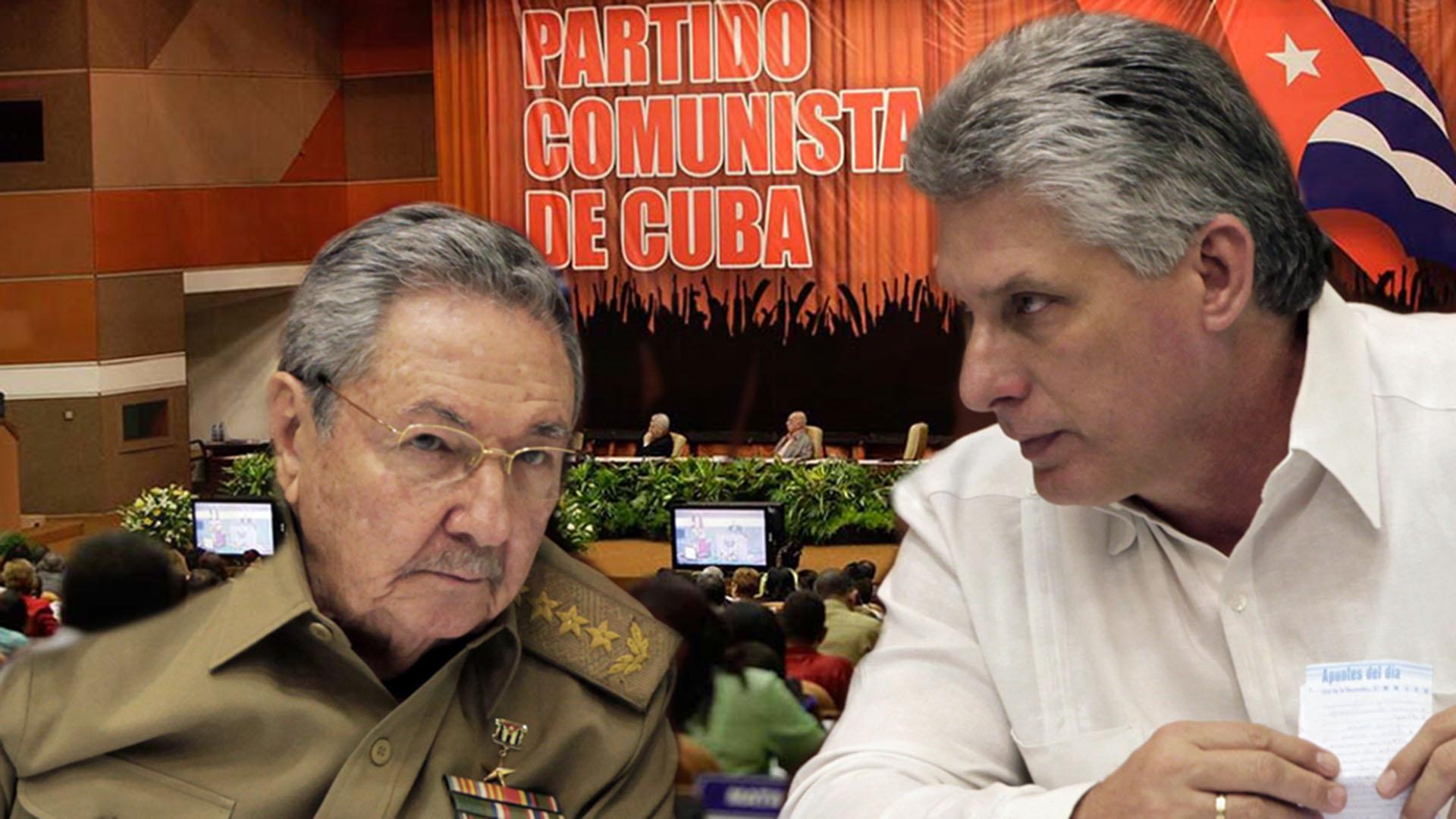 Raúl Castro y Miguel Díaz-Canel, los impulsores de la nueva Constitución en Cuba