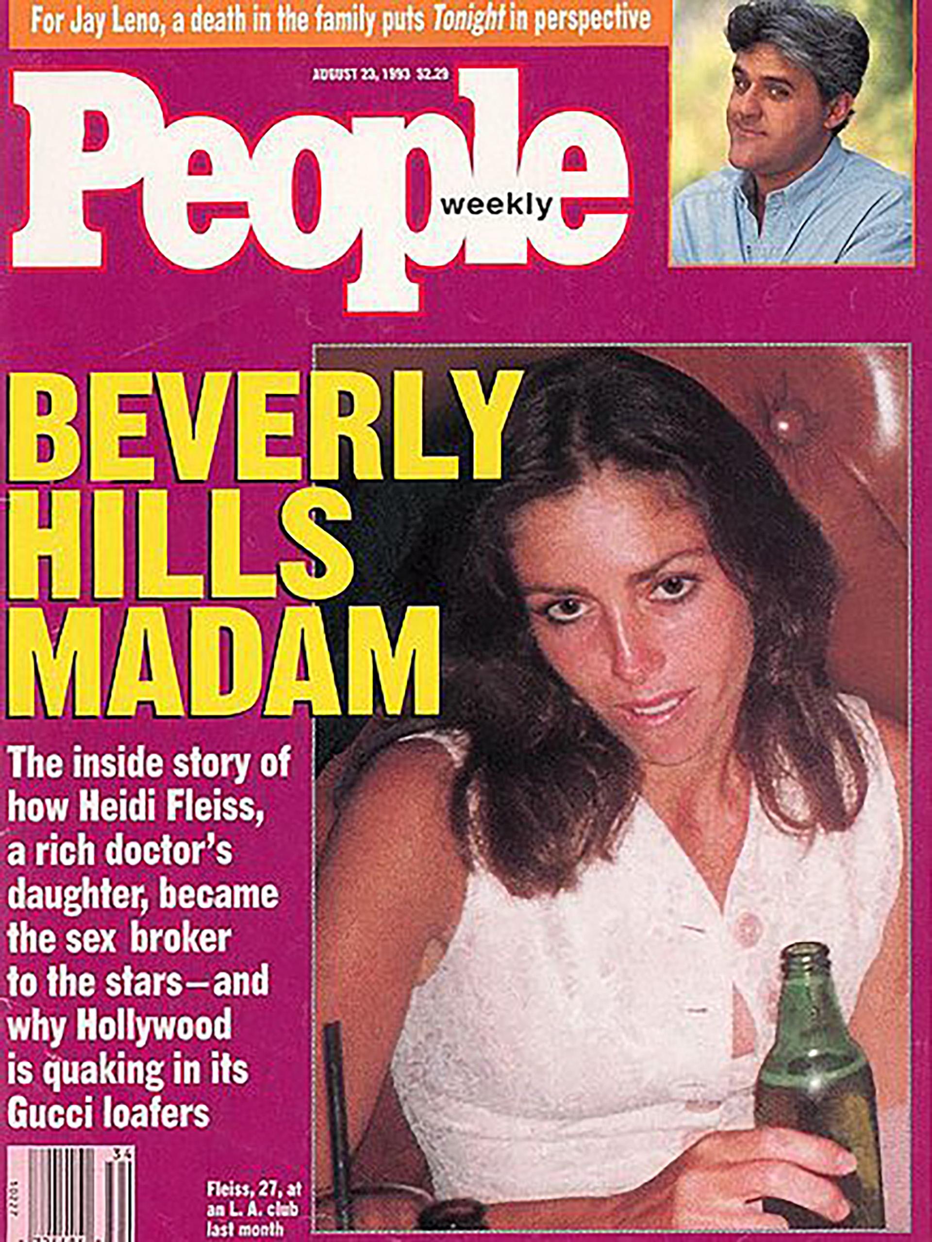 El escándalo llevó a Heidi a las portadas de los principales medios de su país