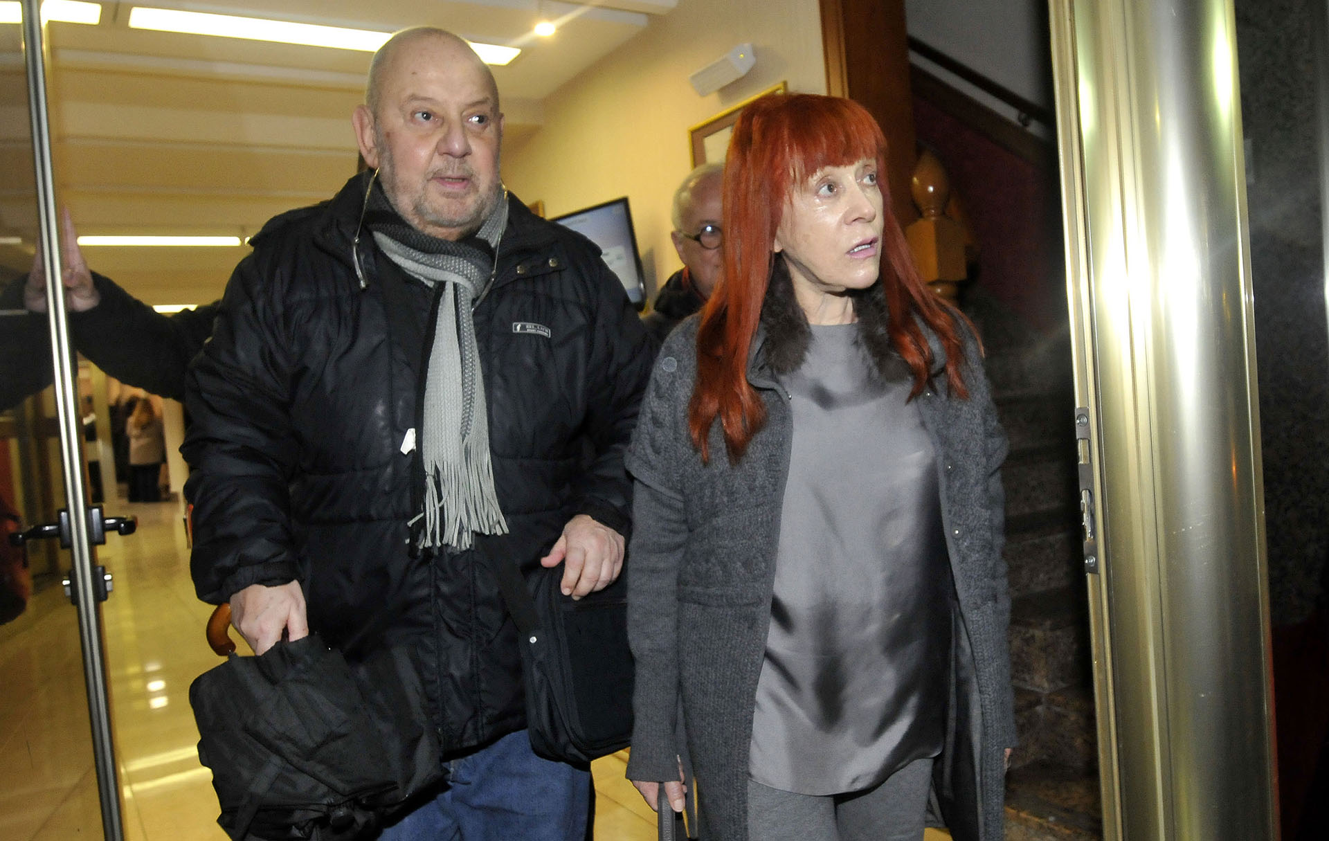Jorge Lafauci y Linda Peretz