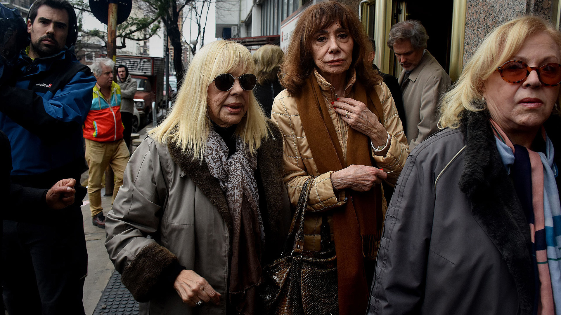 Dorys del Valle y Marta Bianchi (Fotos Teleshow /Nicolás Stulberg)