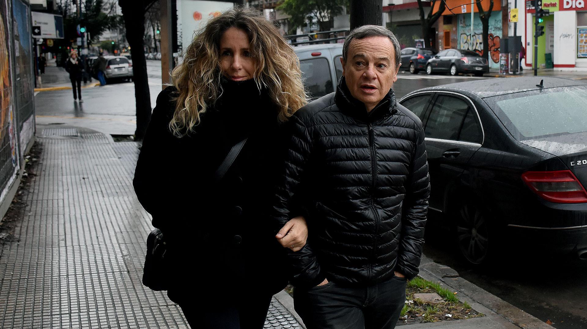Pablo Codevilla y su mujer Noelí Calvo