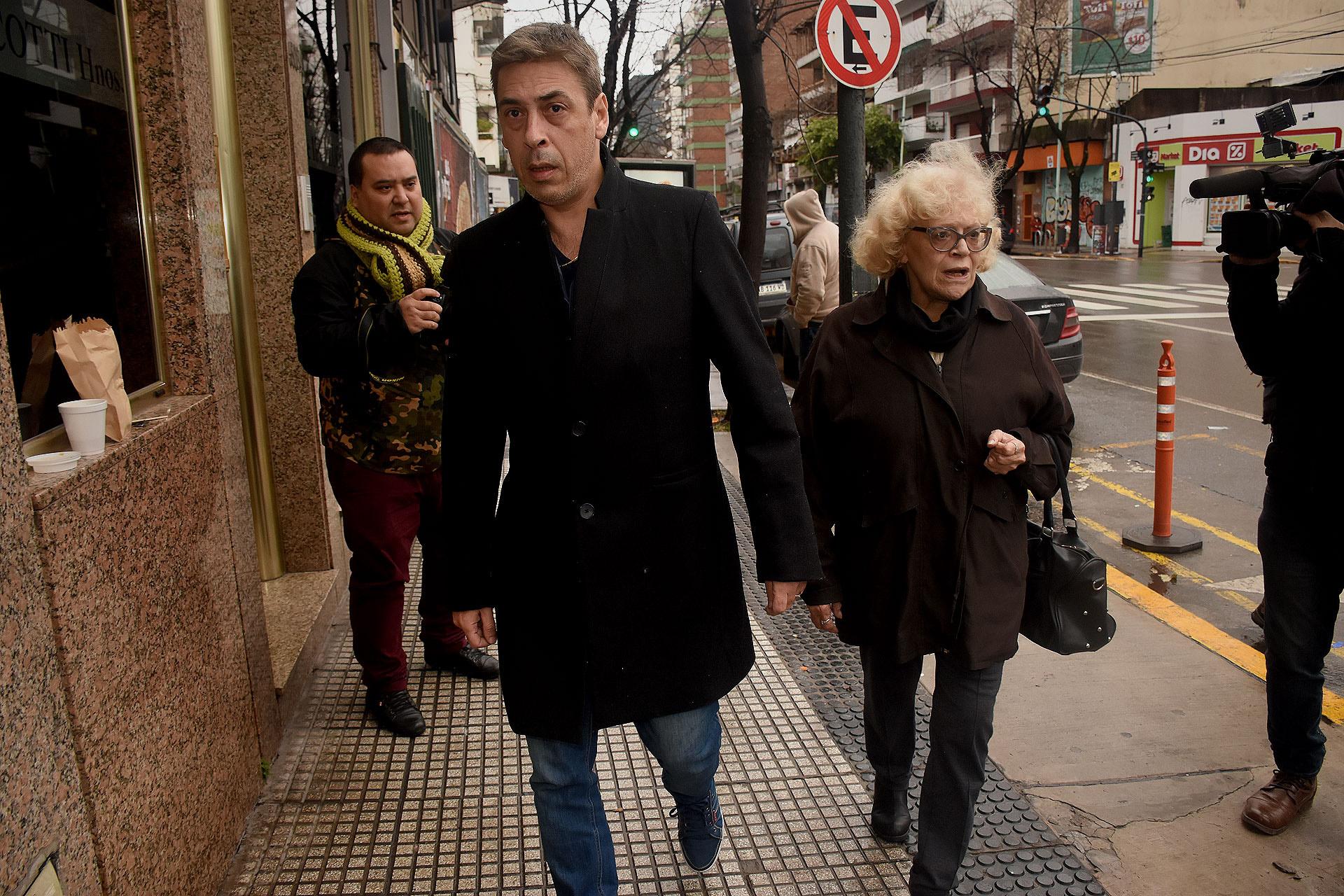 René Bertrand y María Rosa Fugazot